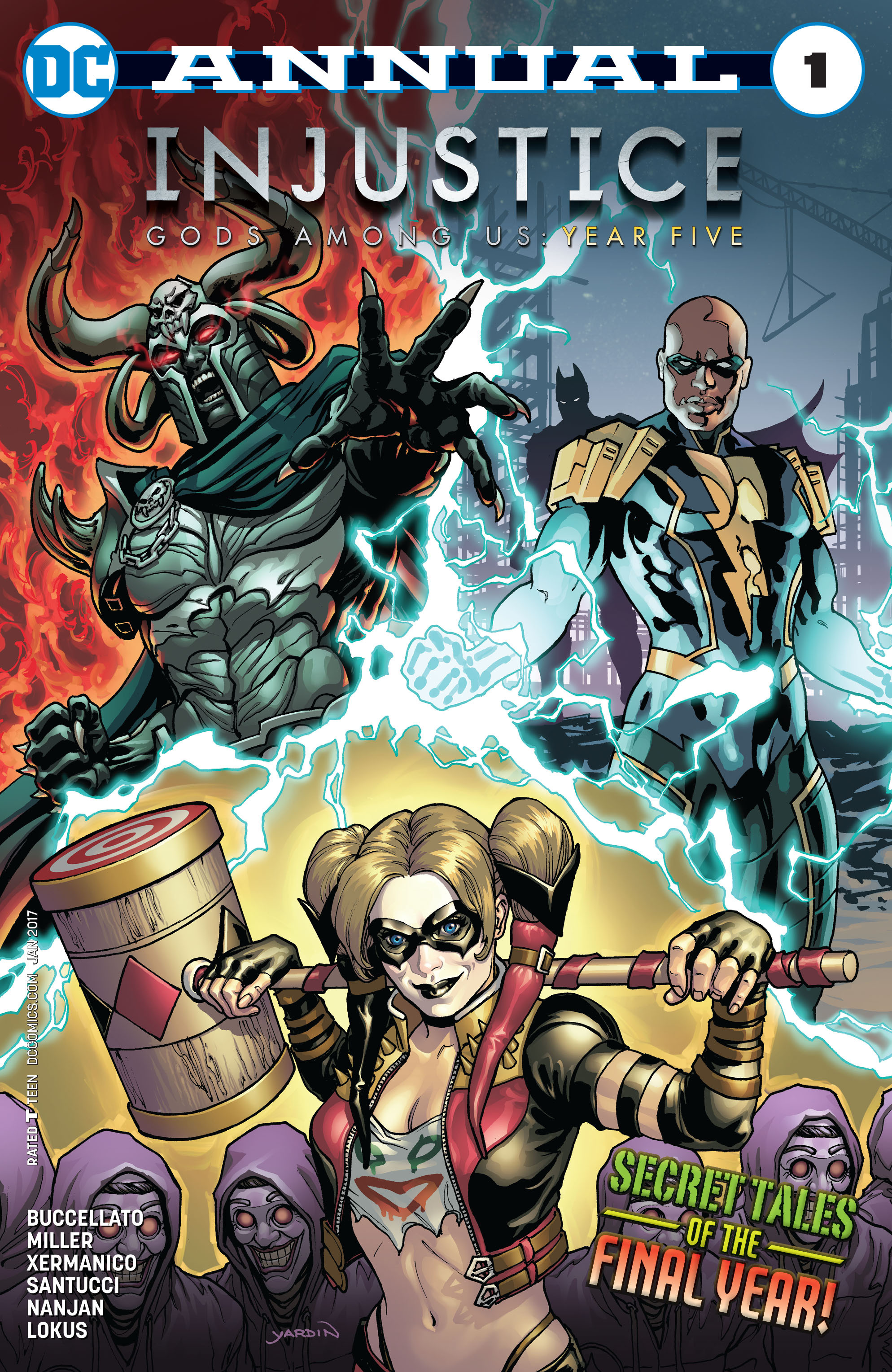 Read Online Injustice Gods Among Us Year Five Comic Issue Annual 1