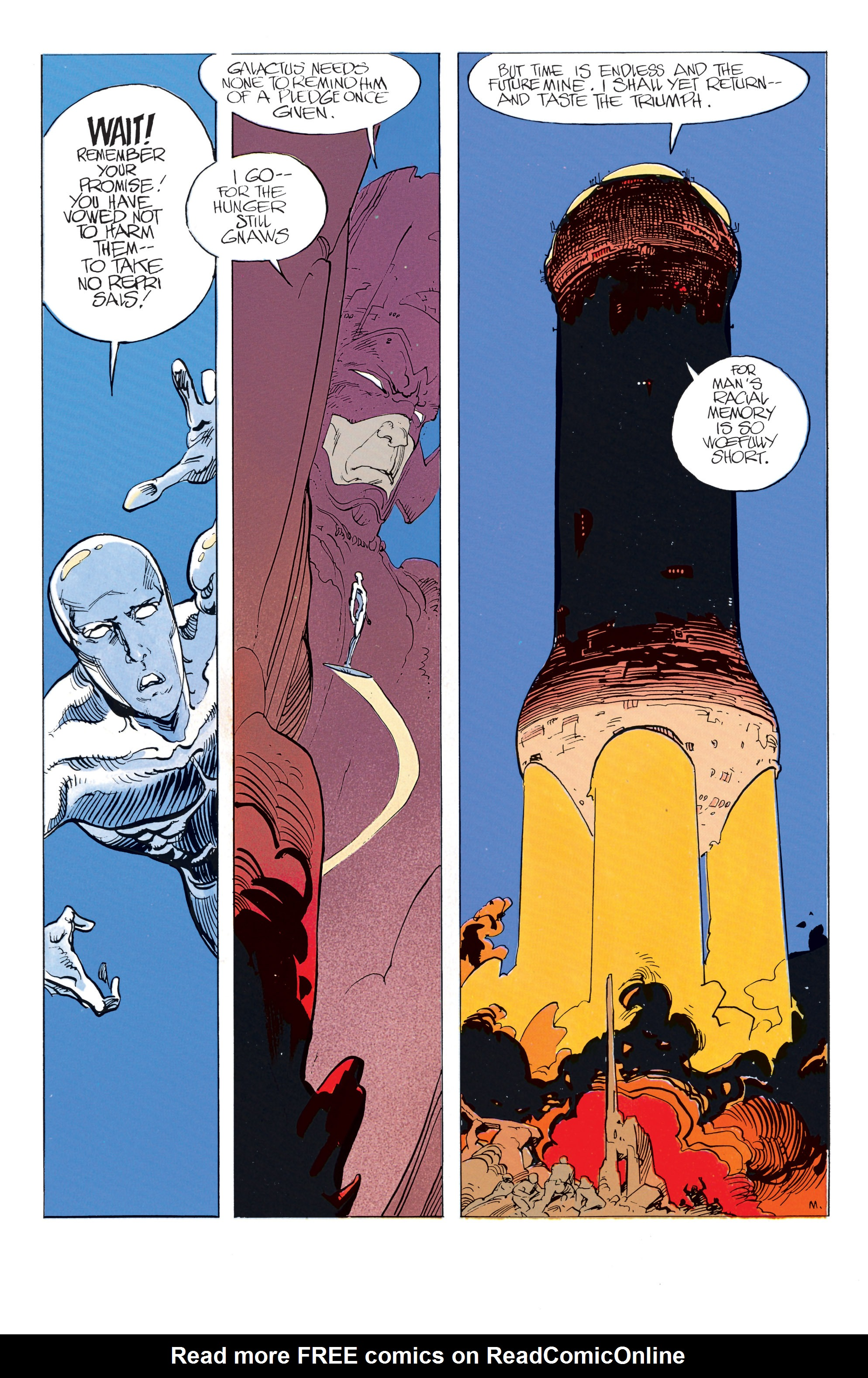 Read online Silver Surfer: Parable comic -  Issue # TPB - 50