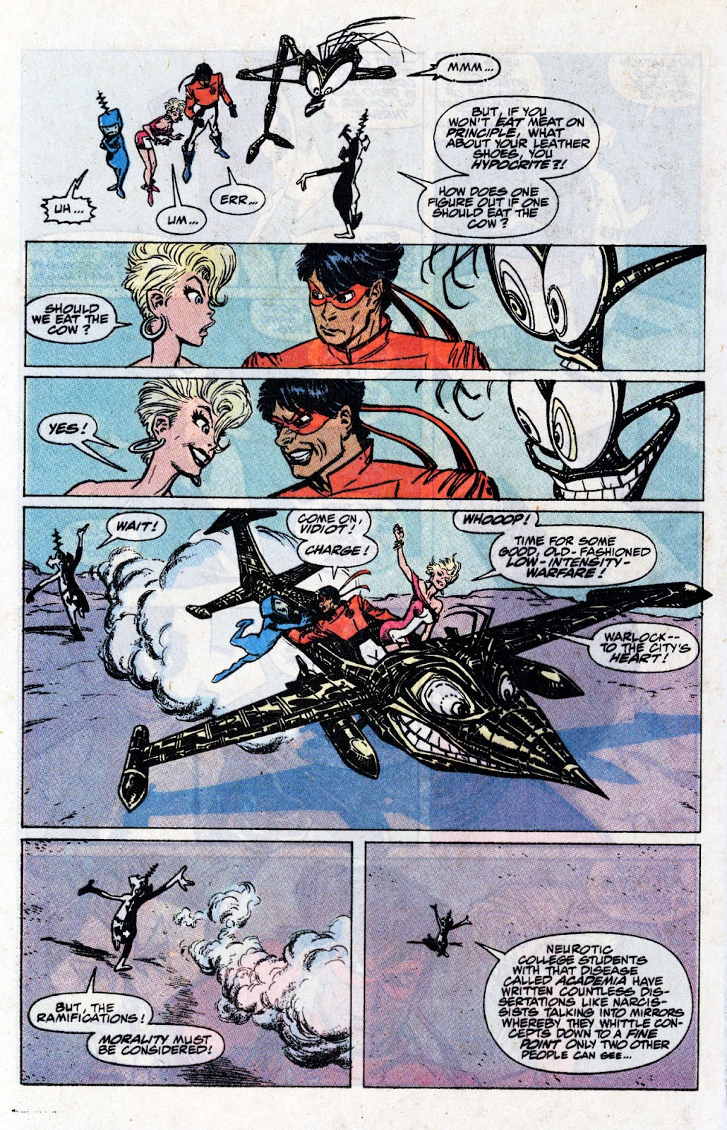 The New Mutants Summer Special issue Full - Page 50