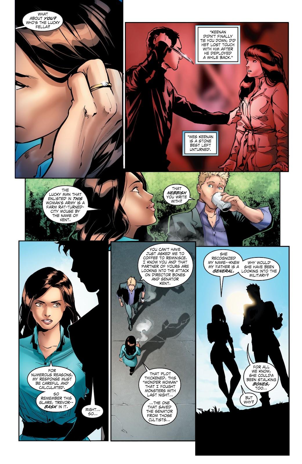 Read online Smallville Season 11 [II] comic -  Issue # TPB 5 - 42