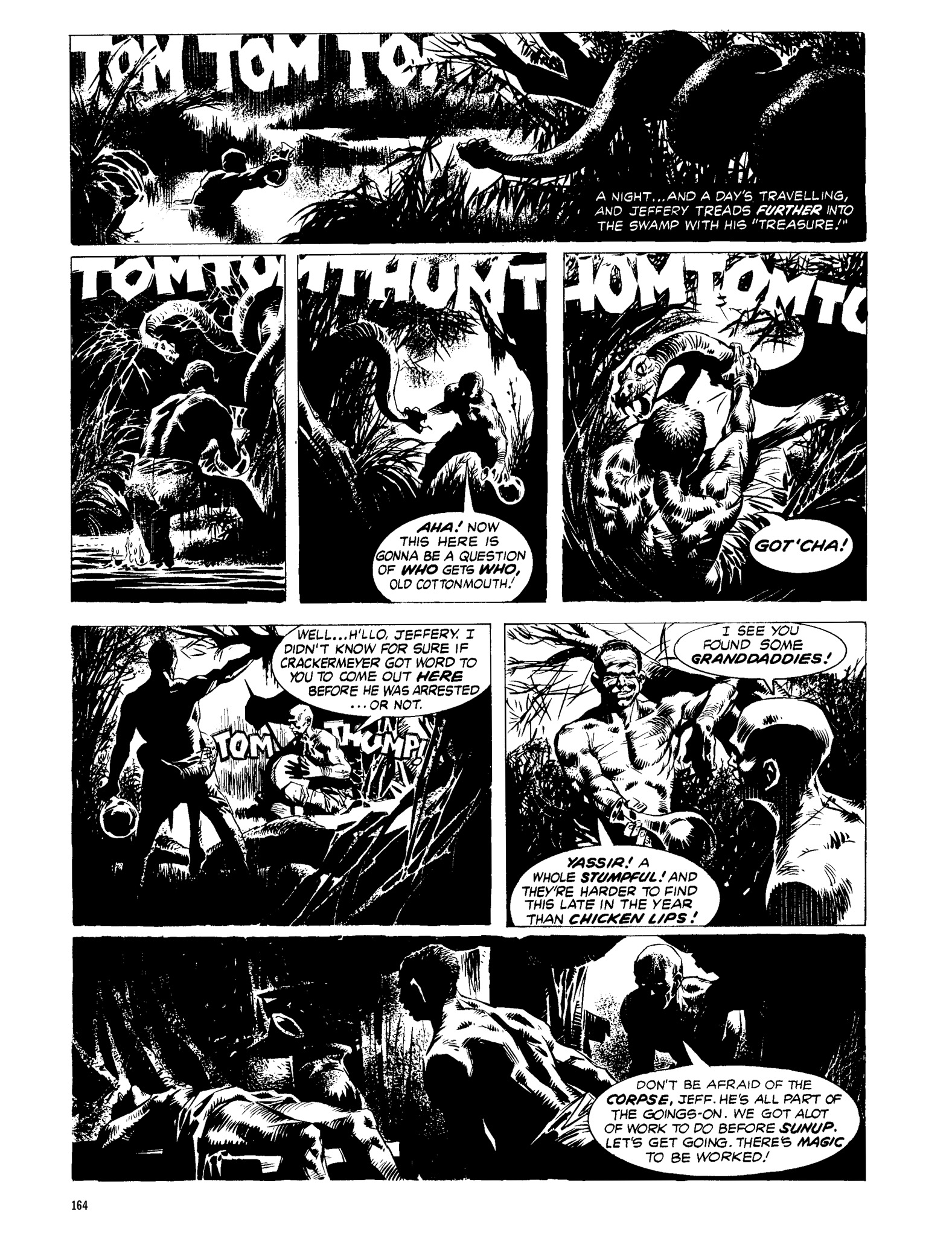 Read online Eerie Archives comic -  Issue # TPB 13 - 165
