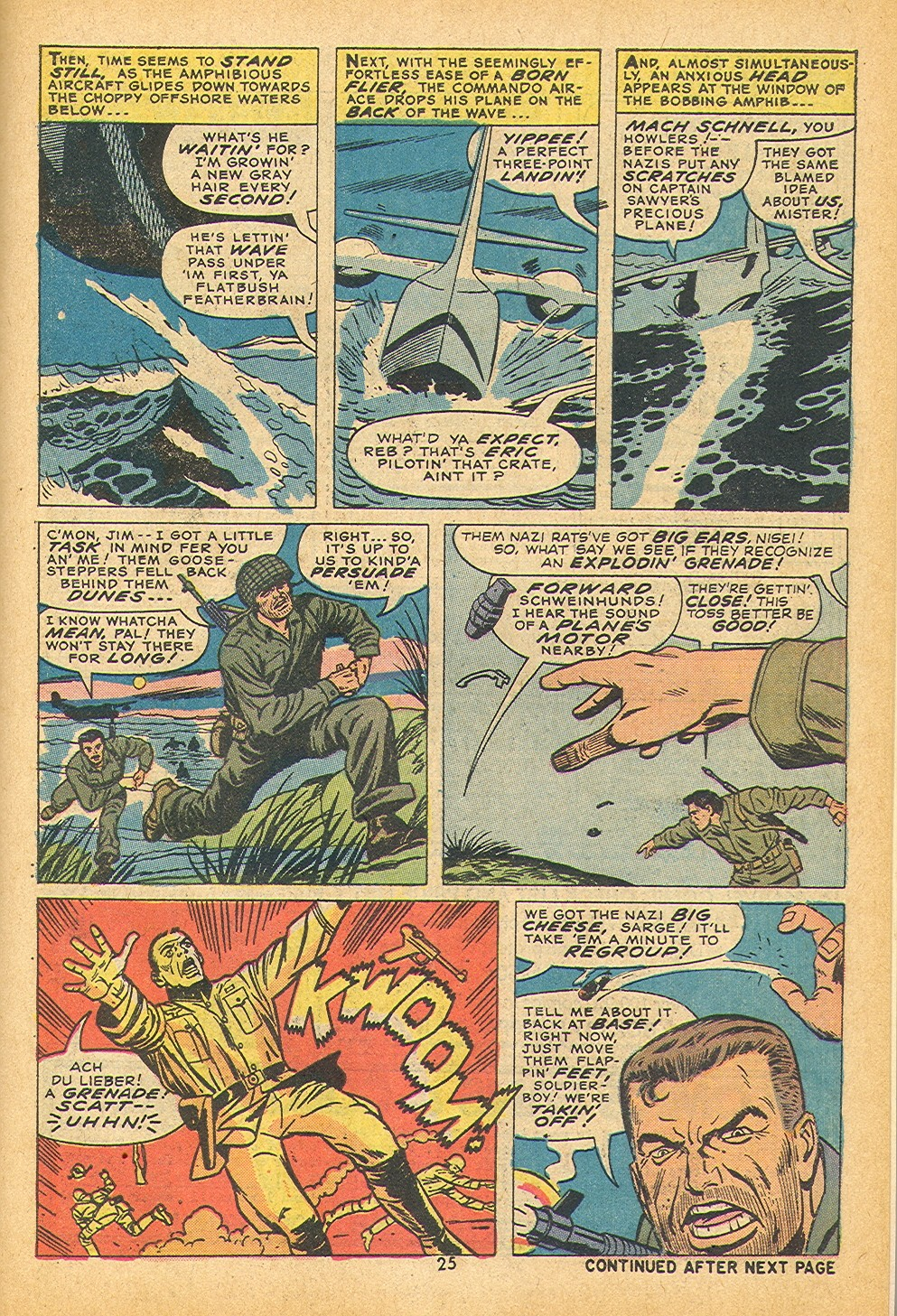 Read online Sgt. Fury comic -  Issue #109 - 27