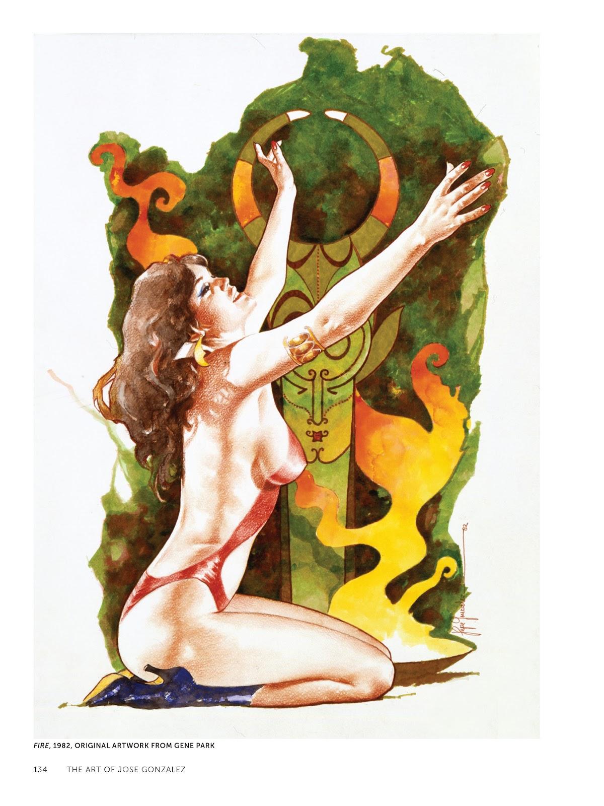 Read online The Art of Jose Gonzalez comic -  Issue # TPB (Part 2) - 36
