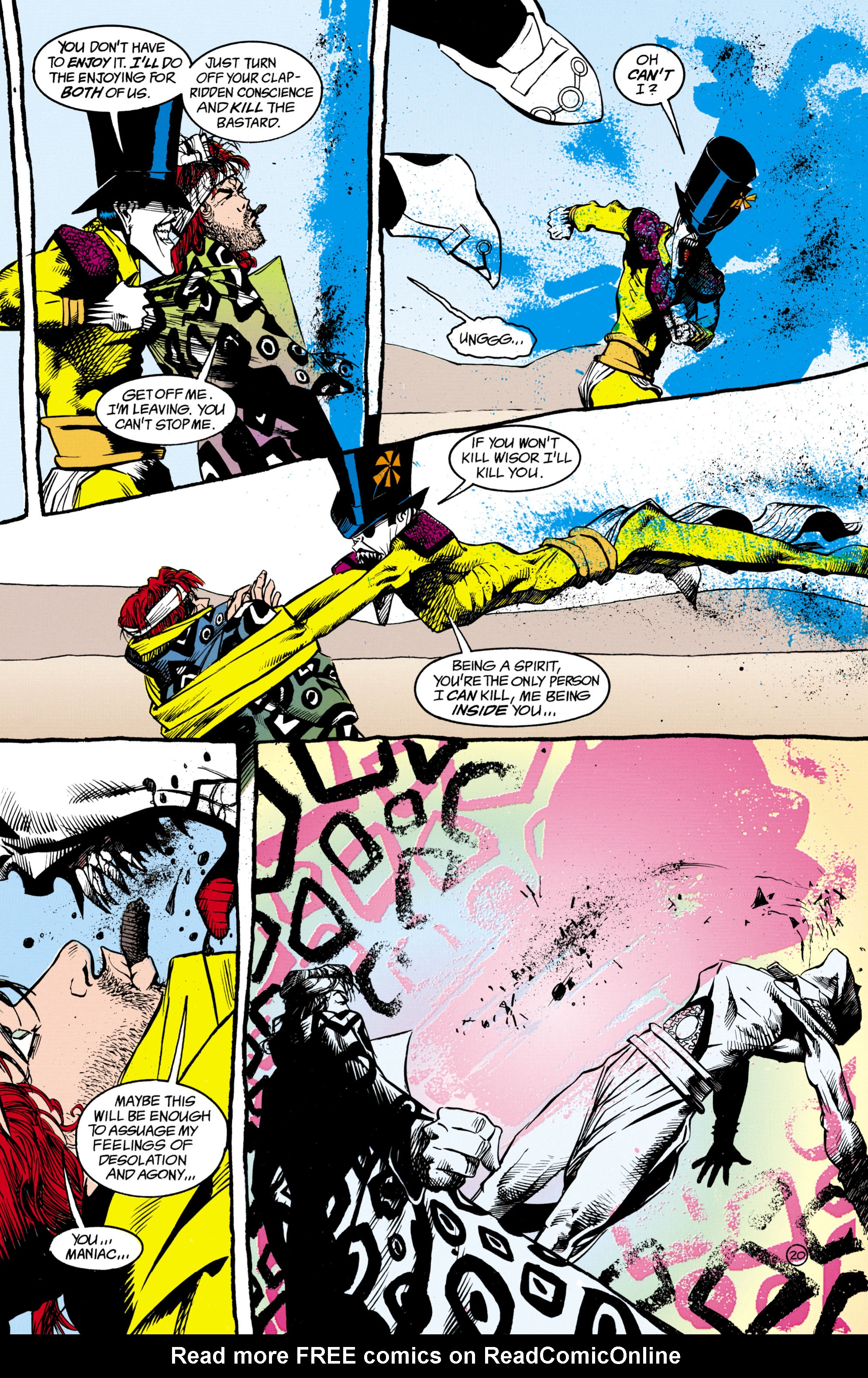 Read online Shade, the Changing Man comic -  Issue #16 - 20