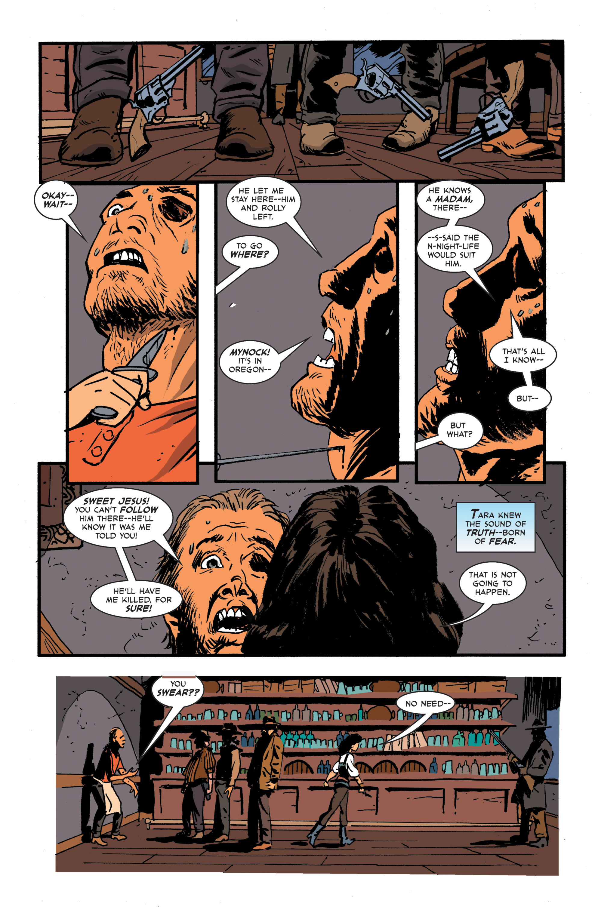 Read online 3 Devils comic -  Issue #3 - 16