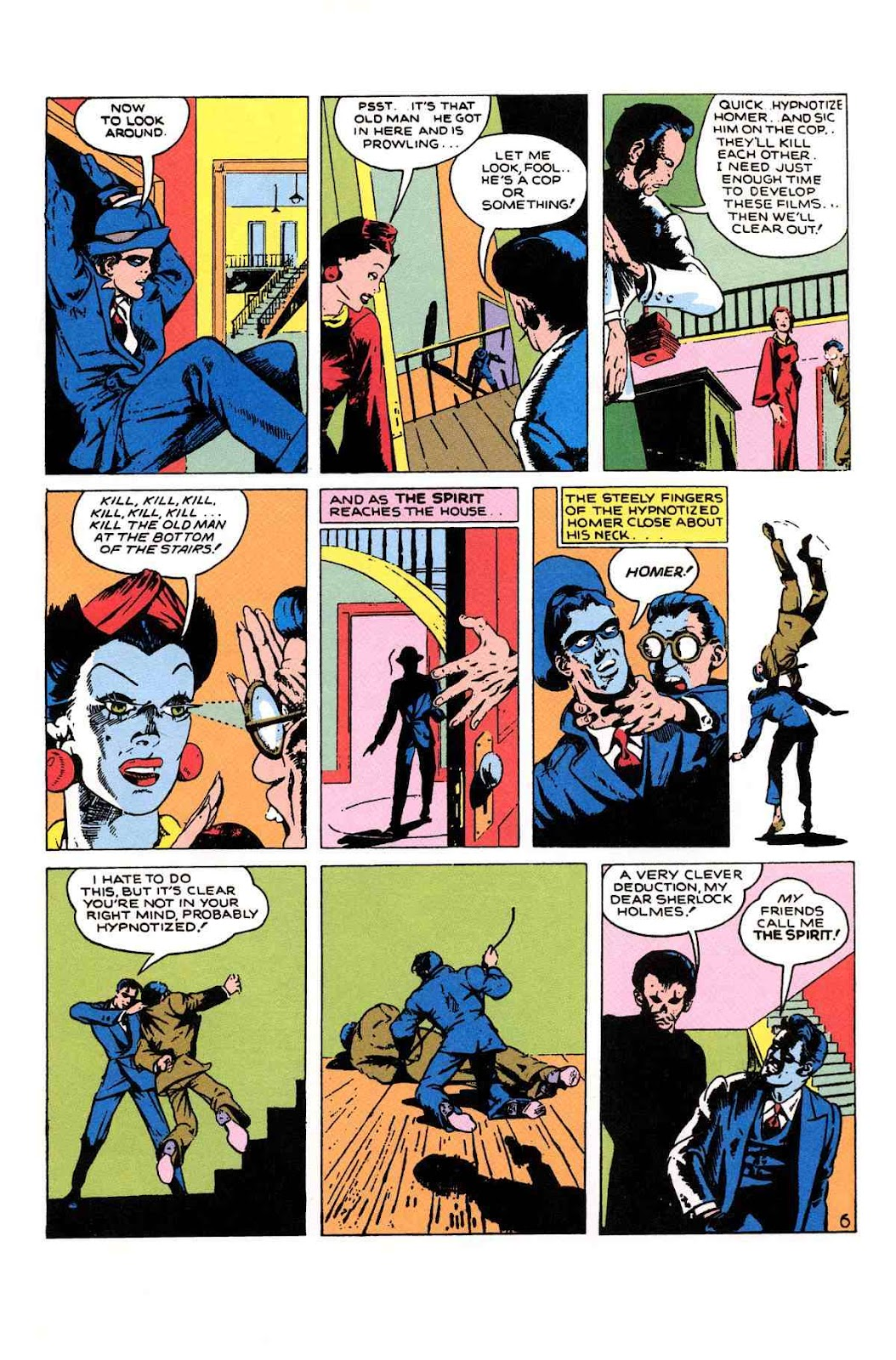 Read online Will Eisner's The Spirit Archives comic -  Issue # TPB 1 (Part 2) - 26