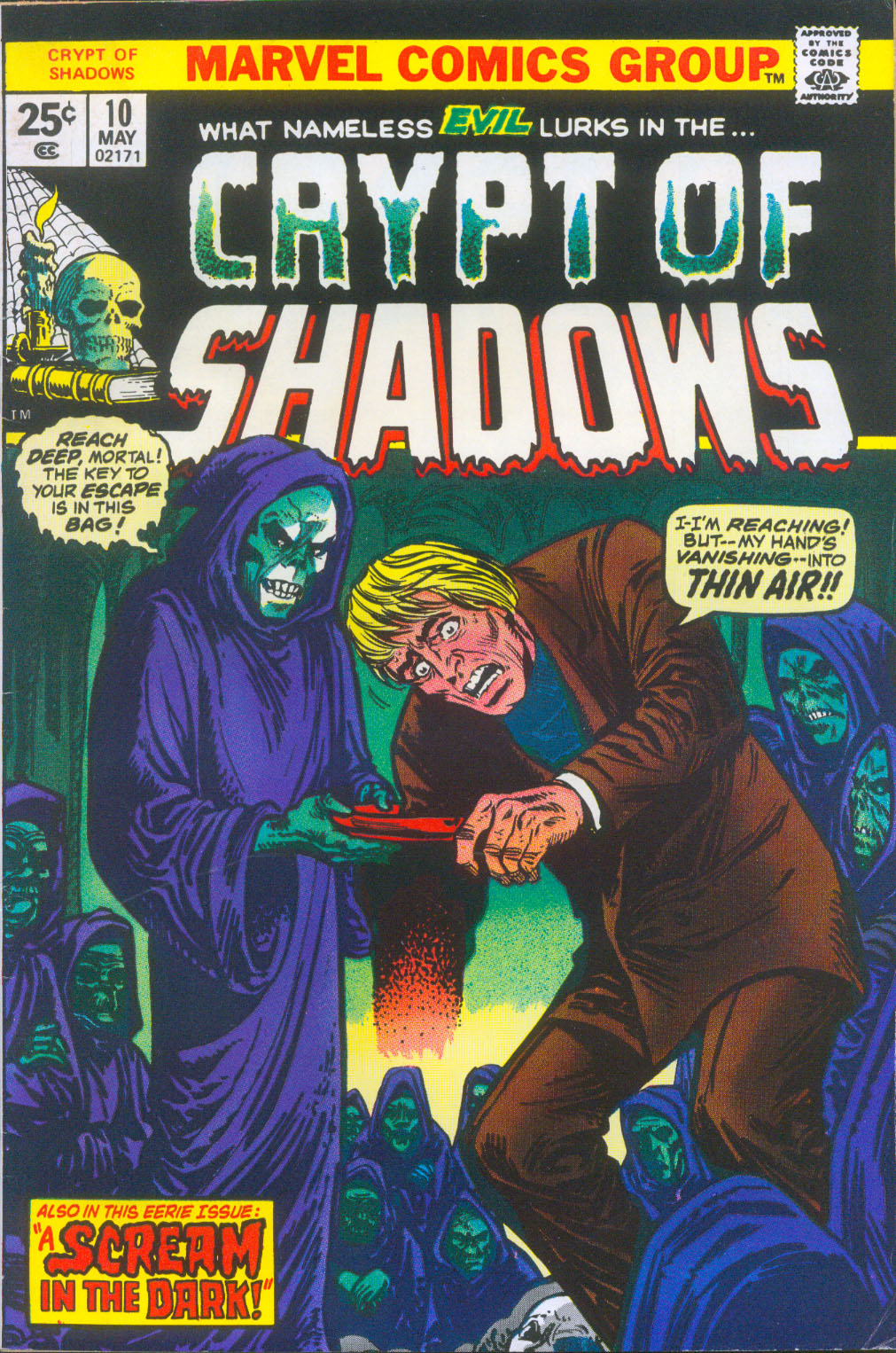 Crypt of Shadows (1973) 10 Page 1