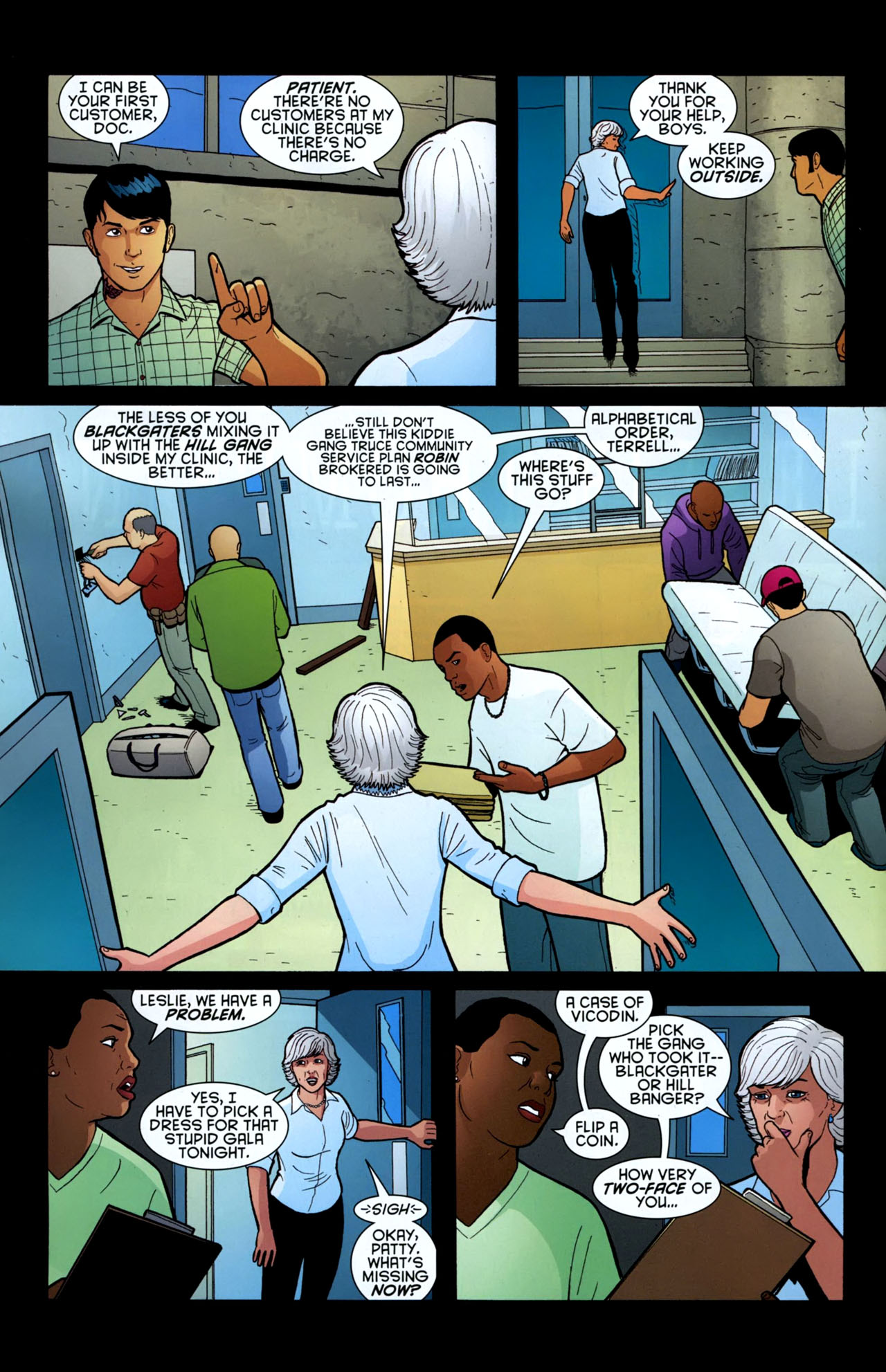 Read online Gotham Gazette comic -  Issue # Issue Batman Alive - 9