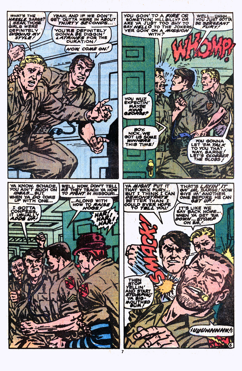 Read online Sgt. Fury comic -  Issue #164 - 9