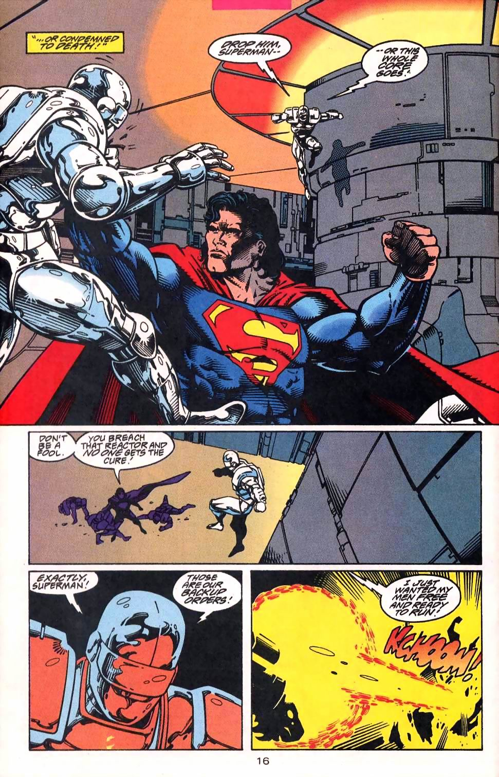 Read online Adventures of Superman (1987) comic -  Issue #513 - 17