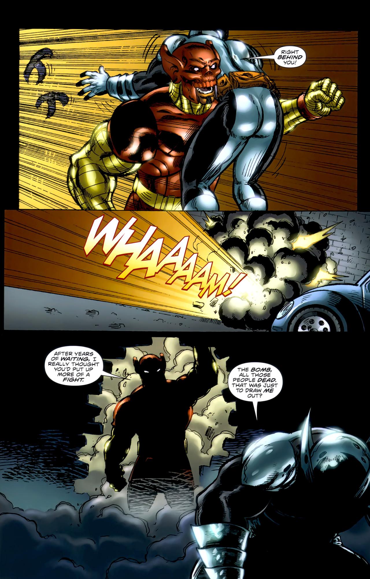 Read online ShadowHawk (2010) comic -  Issue #1 - 12