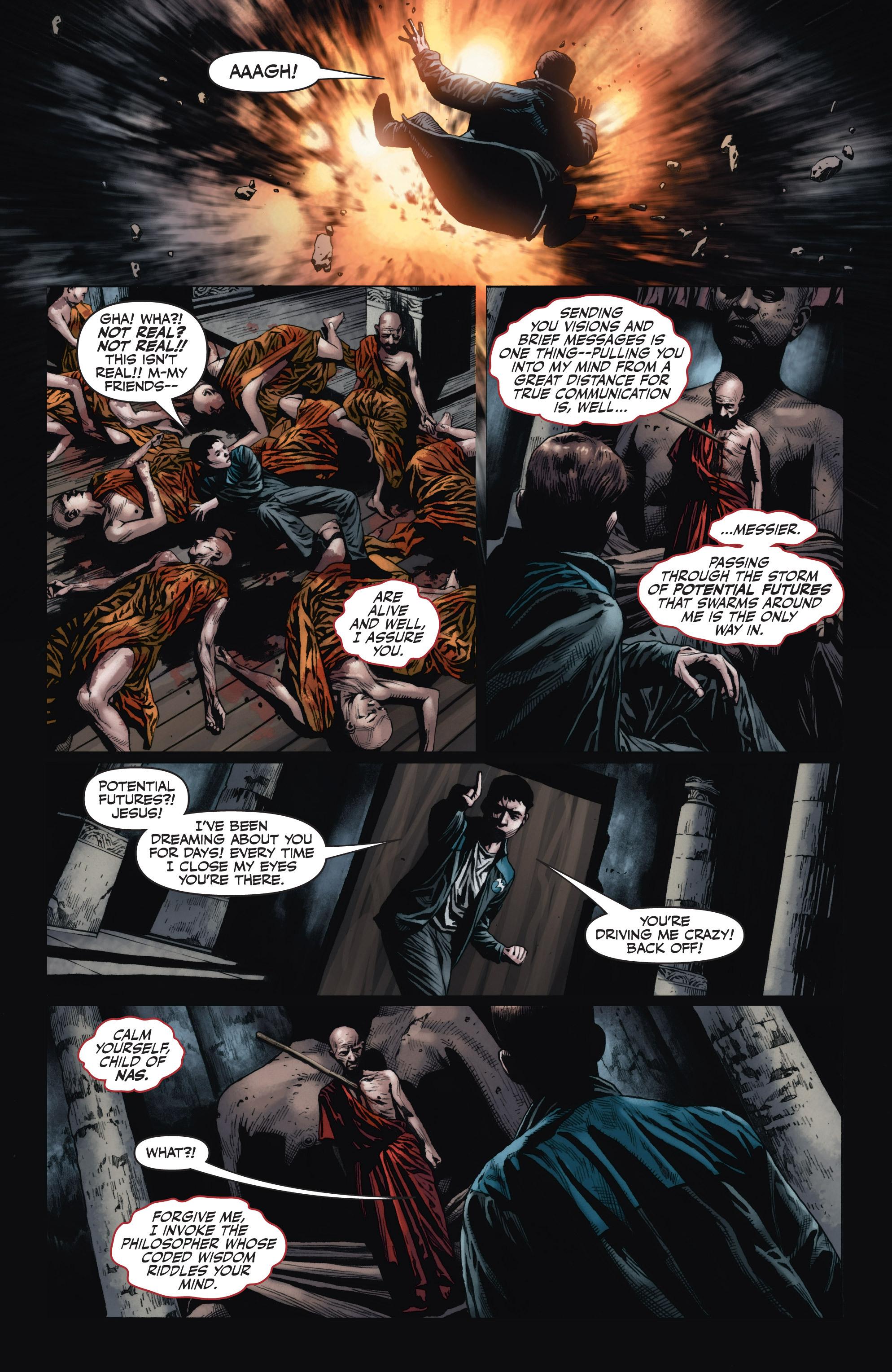 Read online Armor Hunters: Harbinger comic -  Issue # TPB - 91
