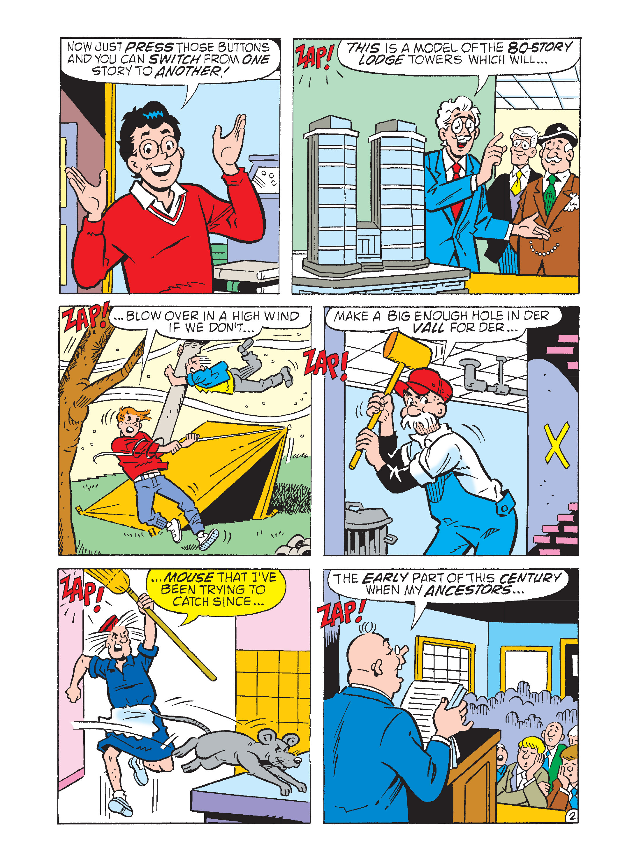 Read online Archie's Funhouse Double Digest comic -  Issue #2 - 25