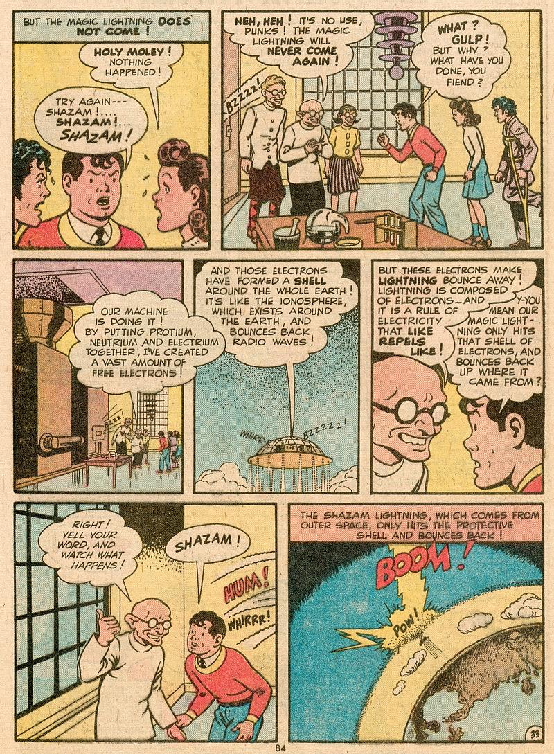 Read online Shazam! (1973) comic -  Issue #12 - 73