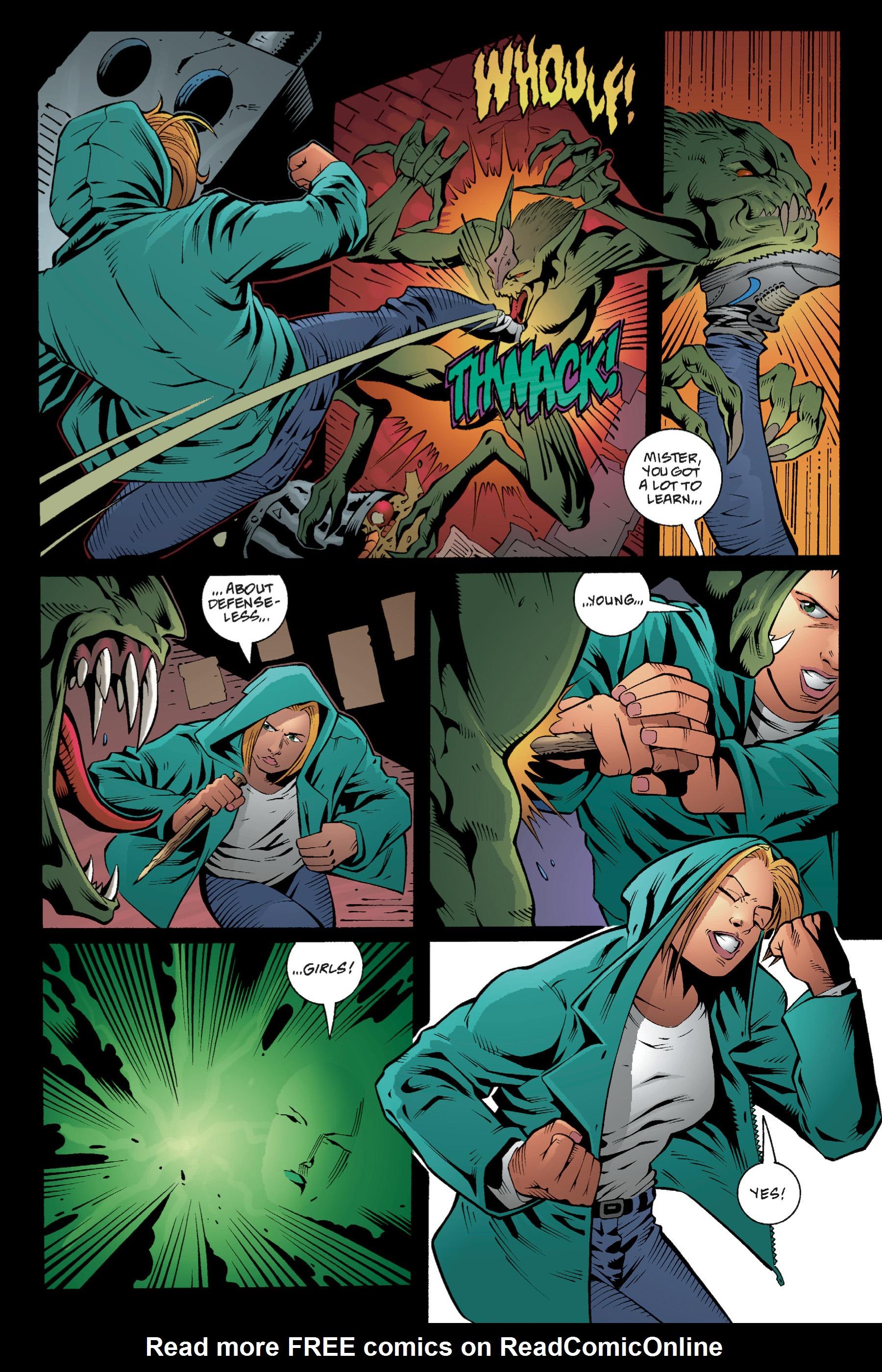 Read online Buffy the Vampire Slayer: Omnibus comic -  Issue # TPB 1 - 69