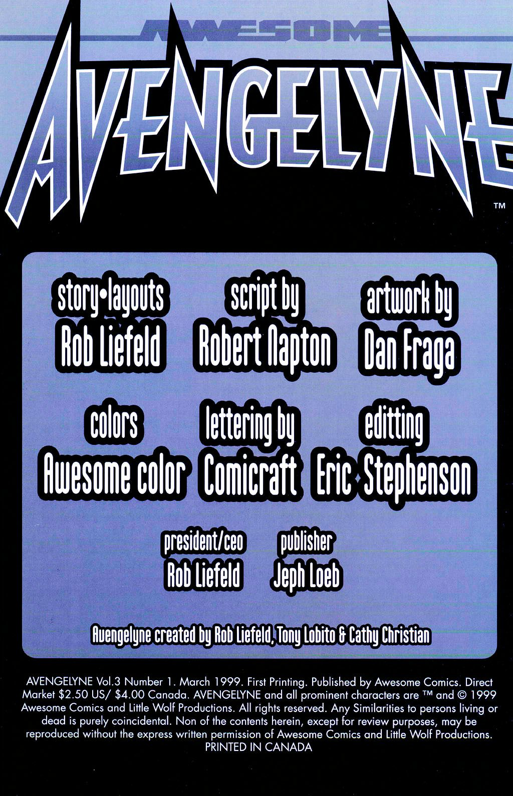 Read online Avengelyne (1999) comic -  Issue #Avengelyne (1999) Full - 4