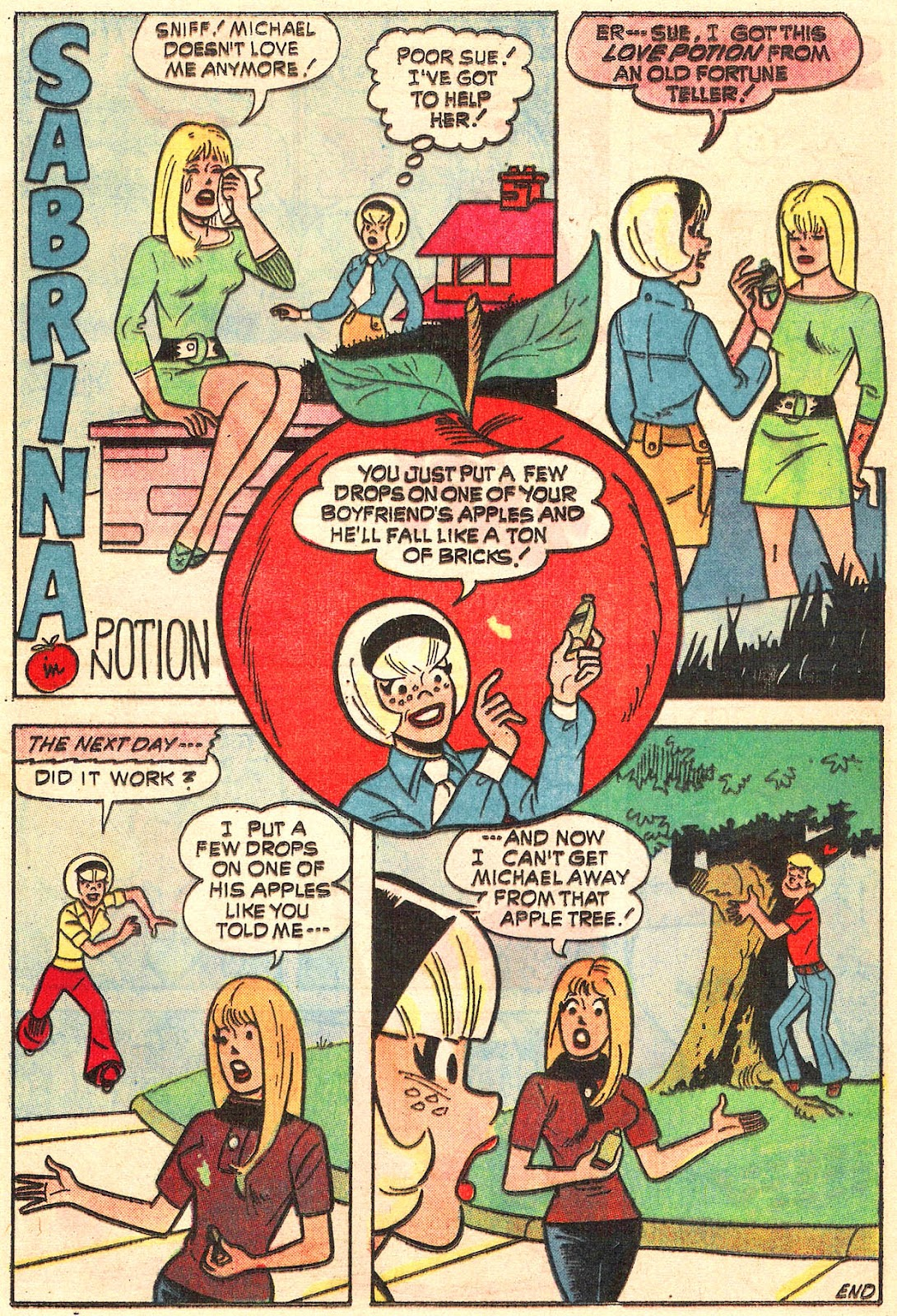Sabrina The Teenage Witch (1971) Issue #16 #16 - English 13