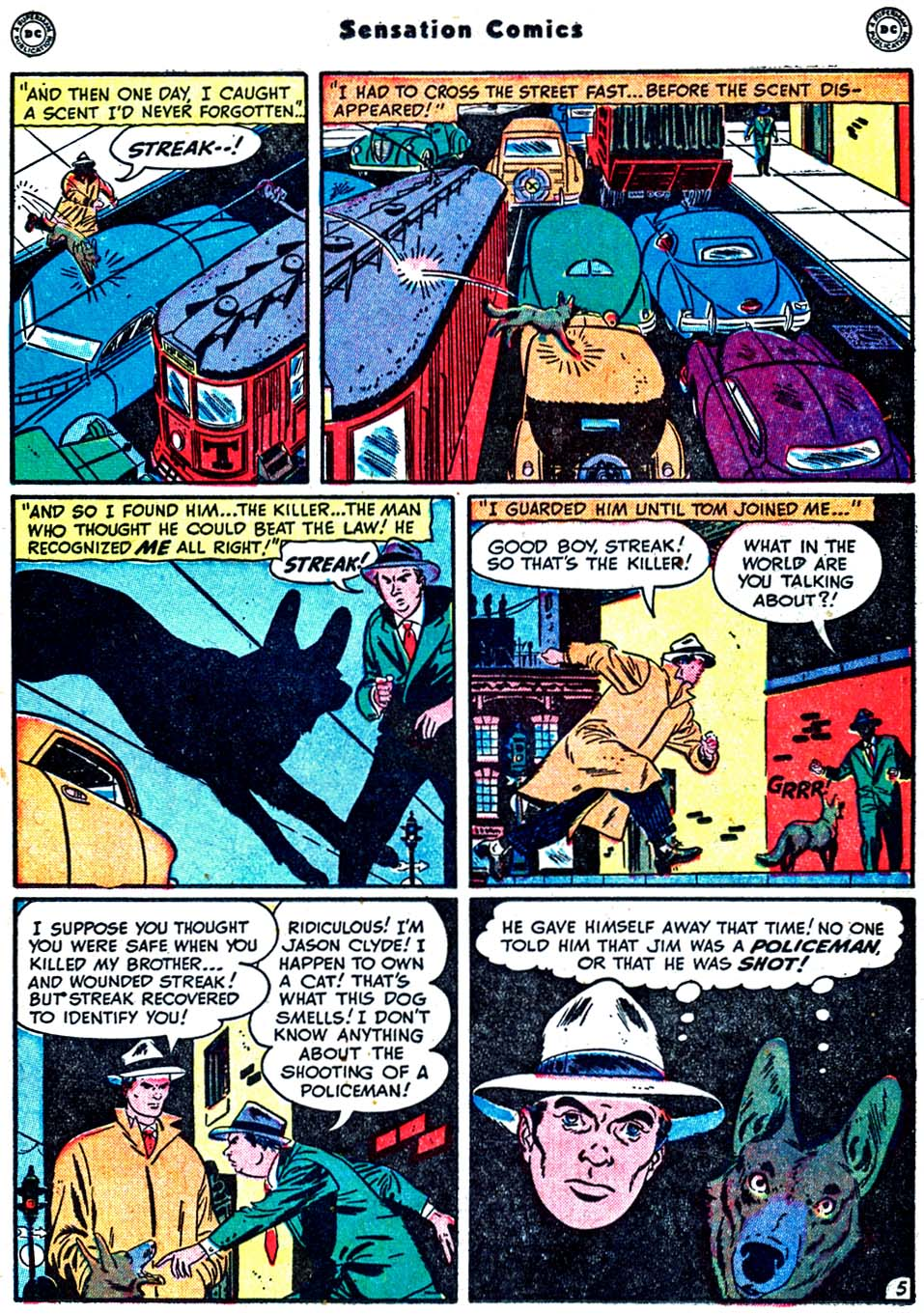 Read online Sensation (Mystery) Comics comic -  Issue #91 - 21