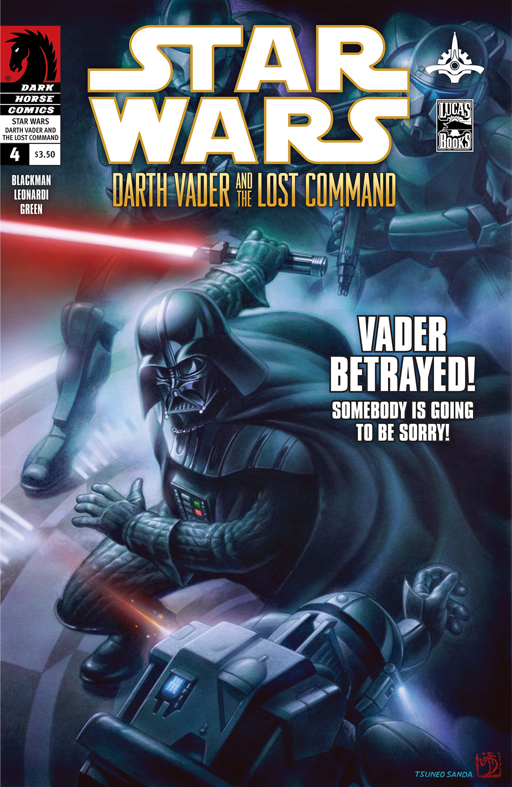 Star Wars: Darth Vader and the Lost Command (2011) 4 Page 1
