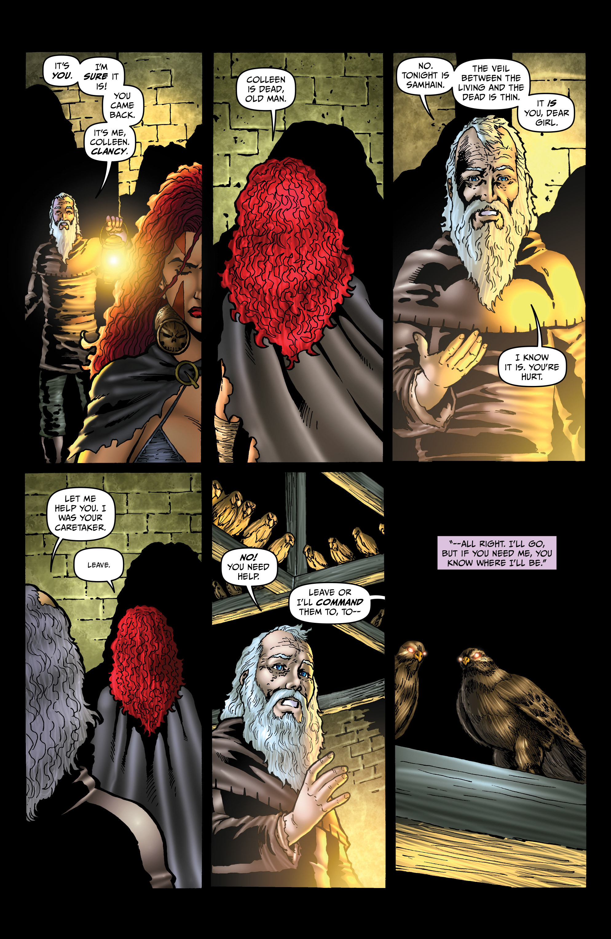 Read online Belladonna: Origins comic -  Issue #4 - 18