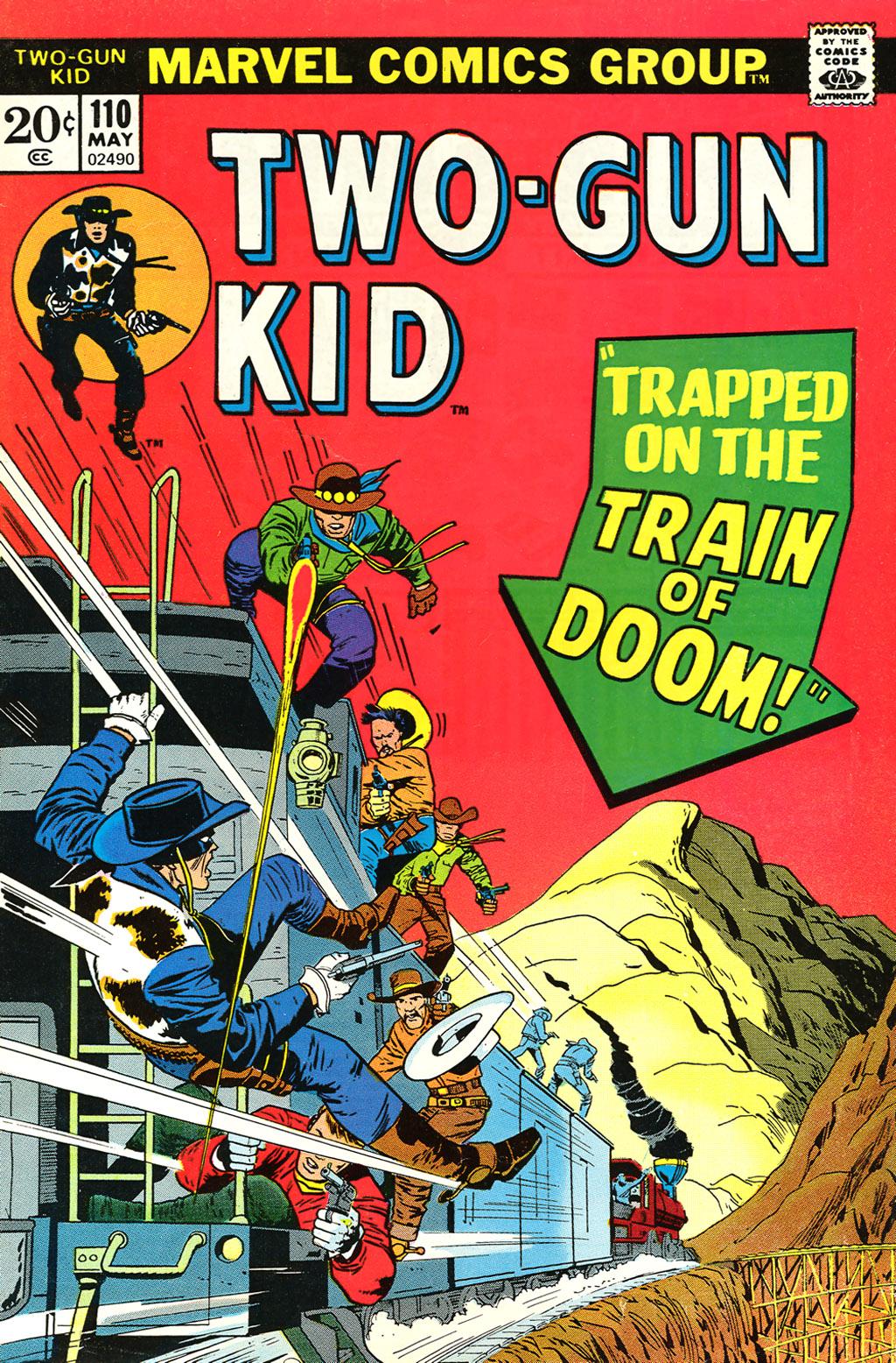 Read online Two-Gun Kid comic -  Issue #110 - 1