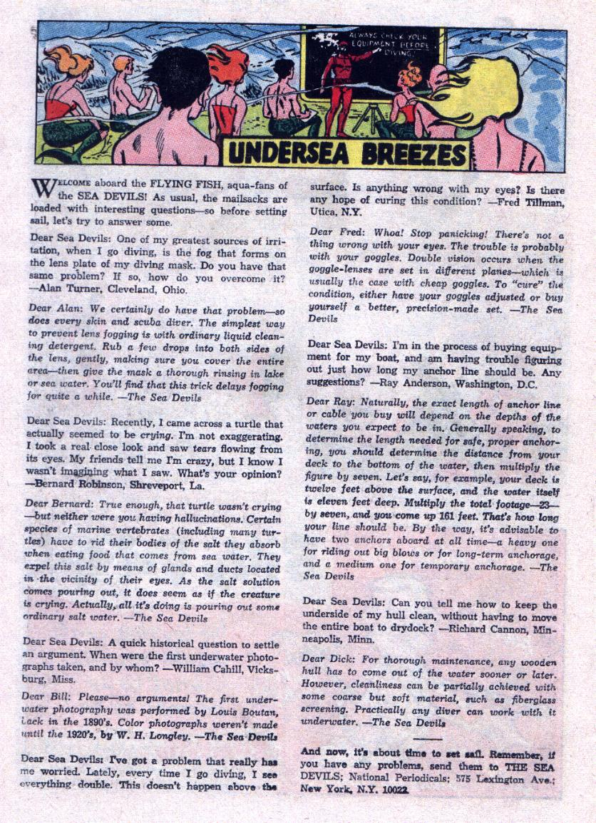 Read online Sea Devils comic -  Issue #23 - 22