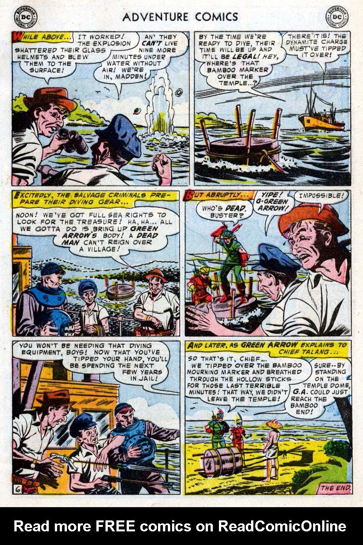 Read online Adventure Comics (1938) comic -  Issue #211 - 33