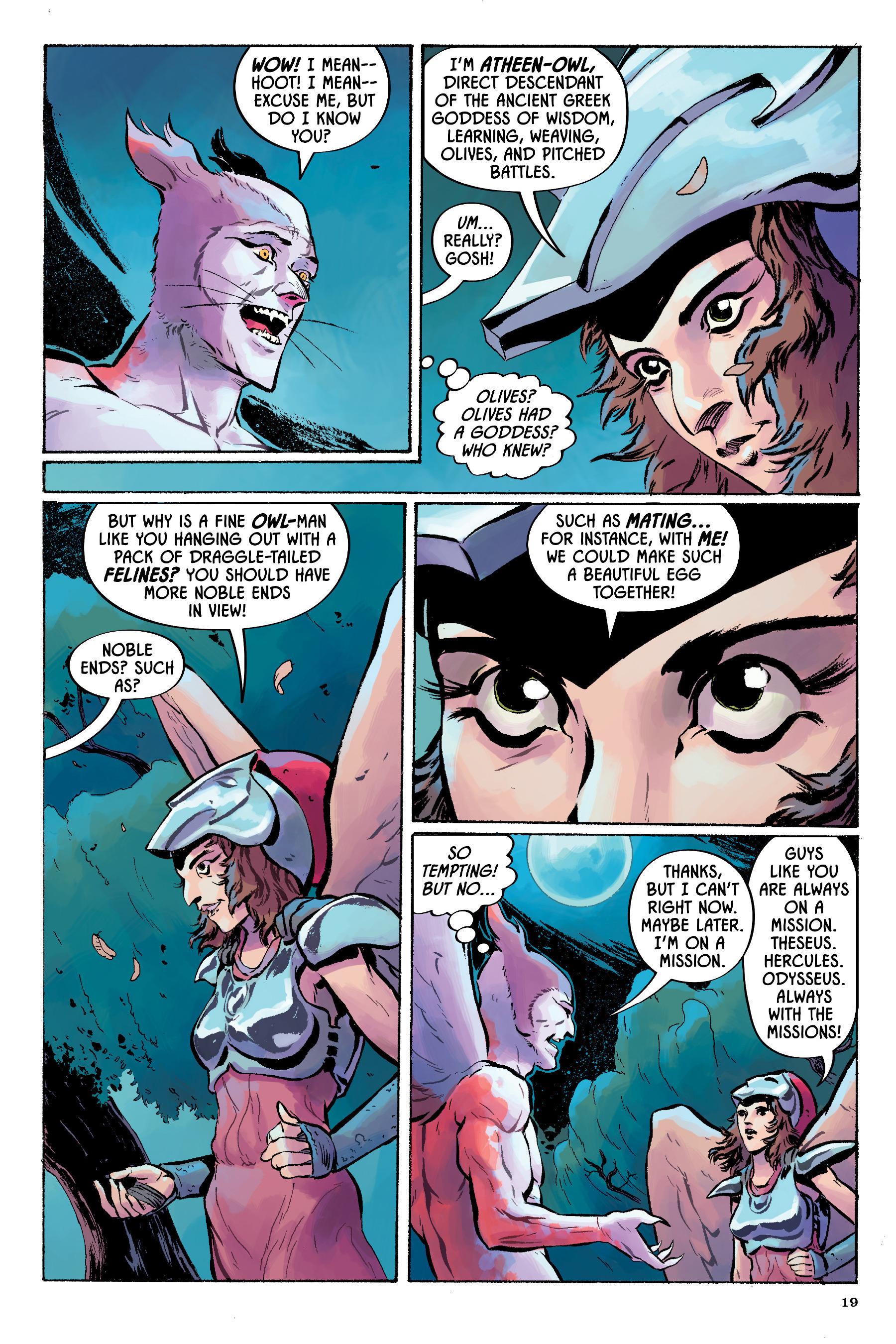 Read online Angel Catbird comic -  Issue # TPB 2 - 20