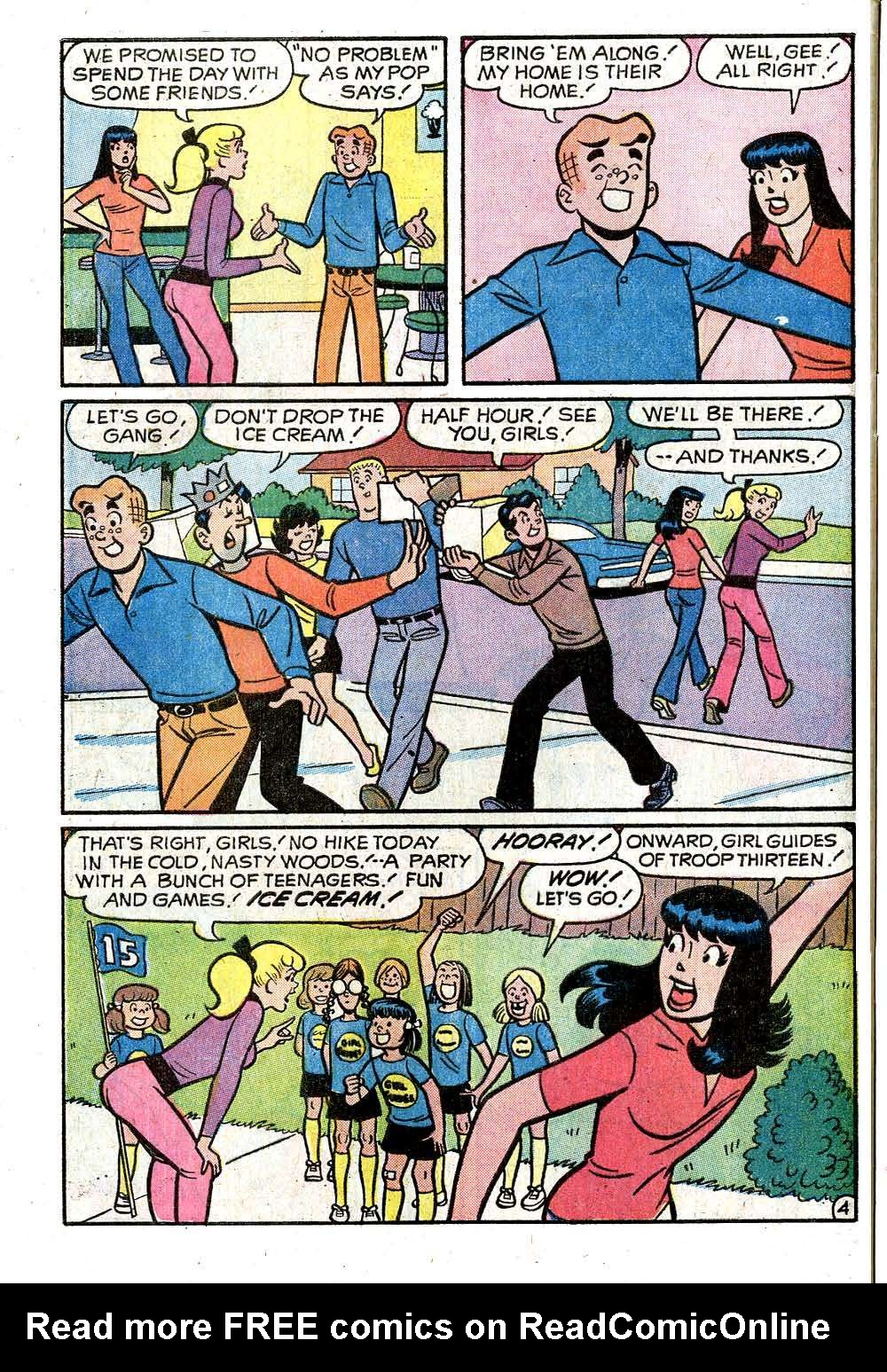 Read online Archie (1960) comic -  Issue #221 - 32