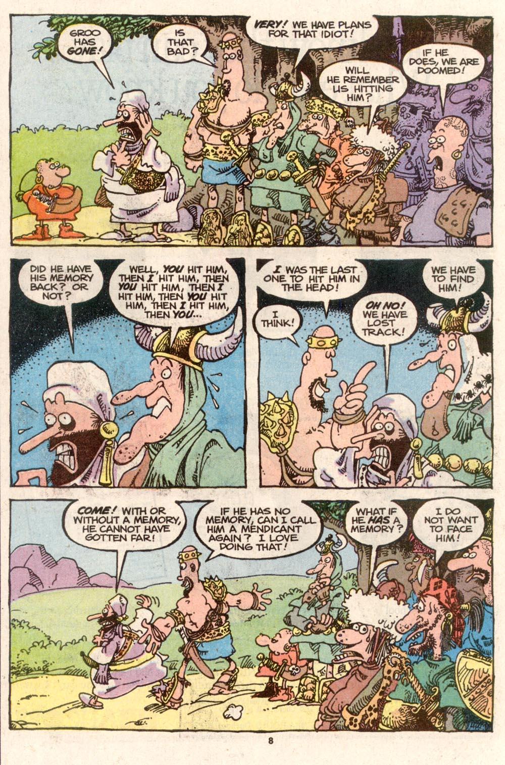 Read online Sergio Aragonés Groo the Wanderer comic -  Issue #74 - 6