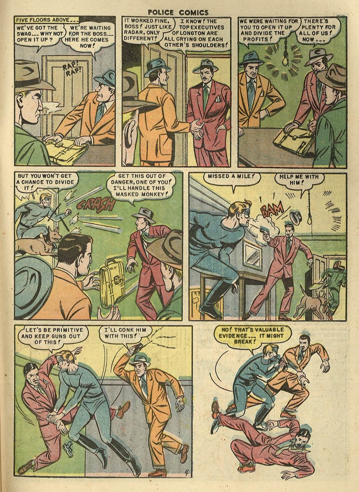 Police Comics issue 100 - Page 31