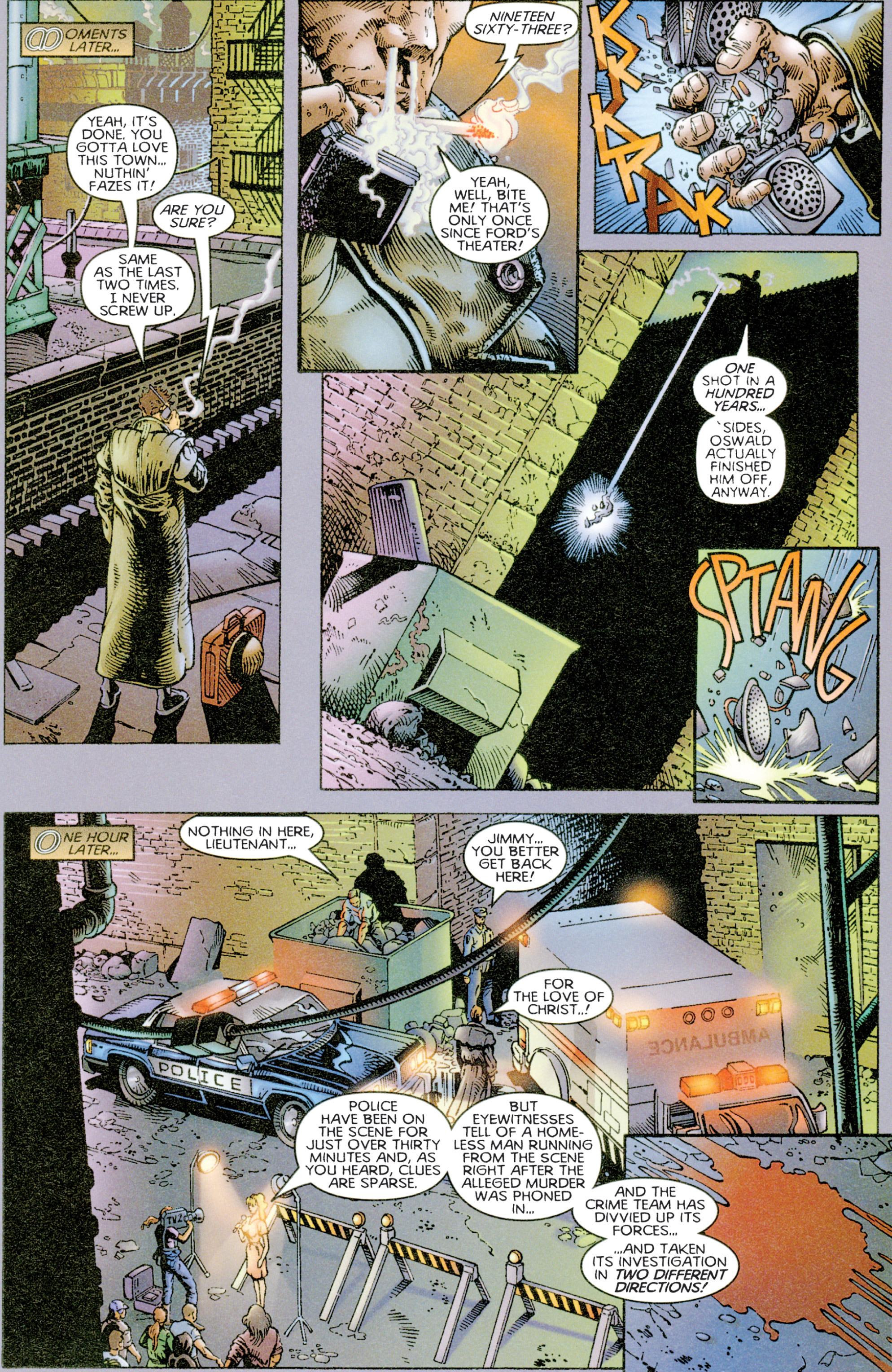 Read online Eternal Warriors comic -  Issue # Issue Time & Treachery - 7