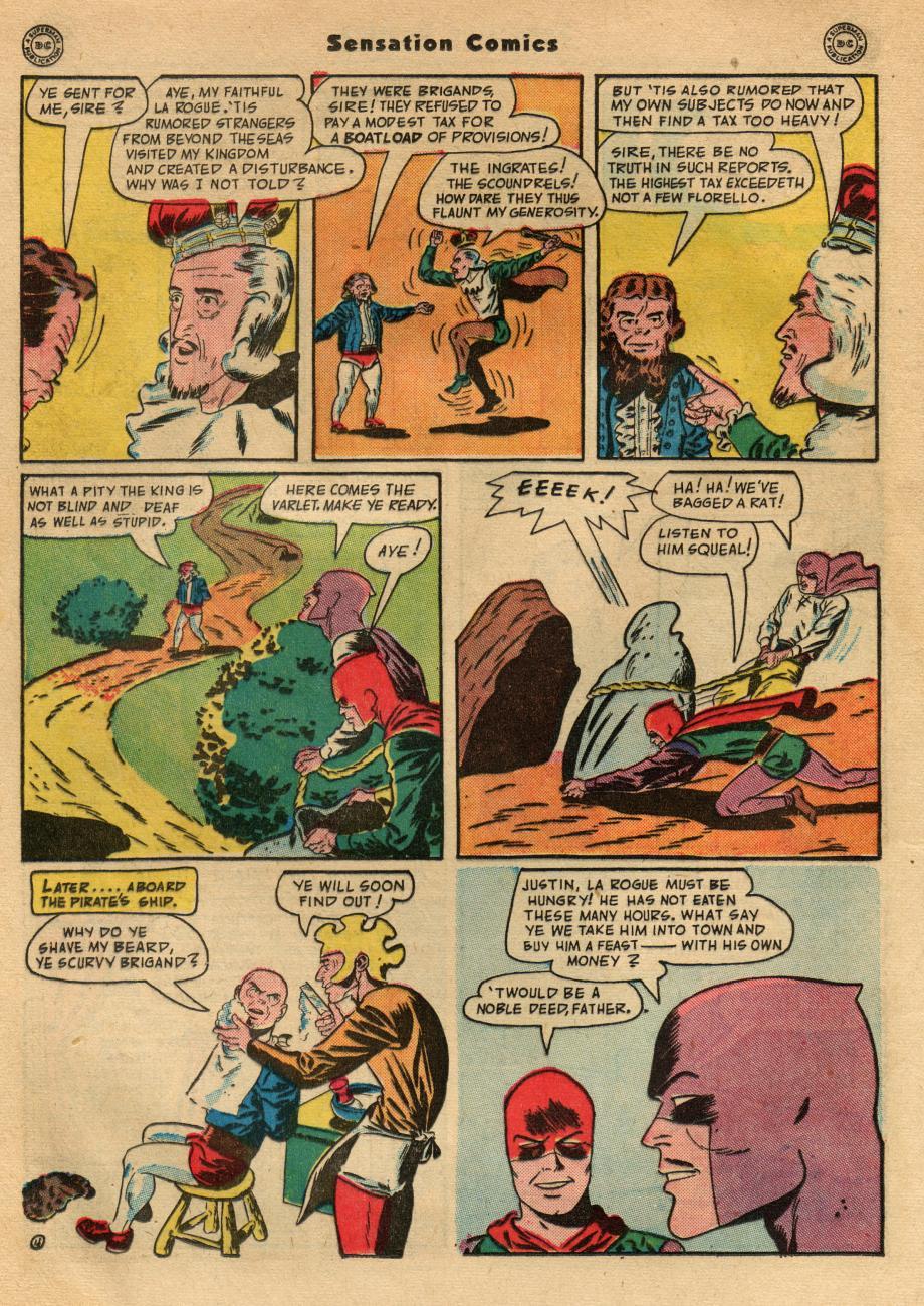 Read online Sensation (Mystery) Comics comic -  Issue #49 - 34