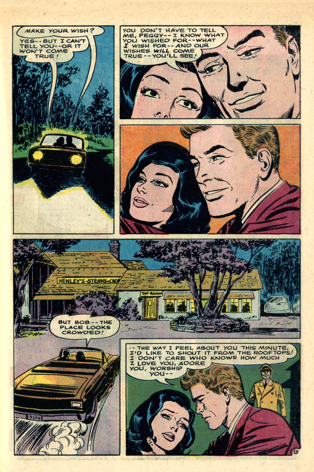 Read online Secret Hearts comic -  Issue #120 - 31