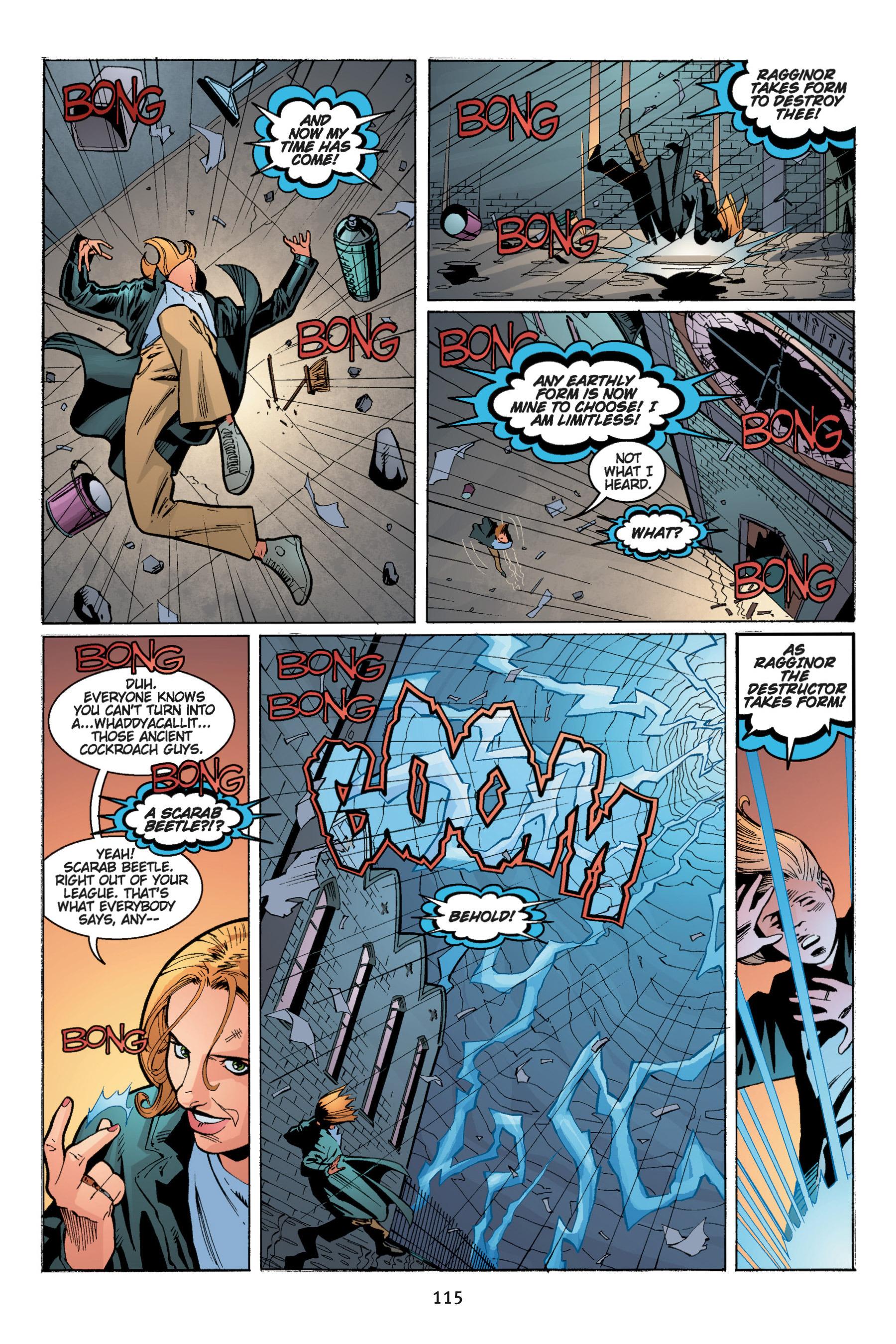 Read online Buffy the Vampire Slayer: Omnibus comic -  Issue # TPB 5 - 116