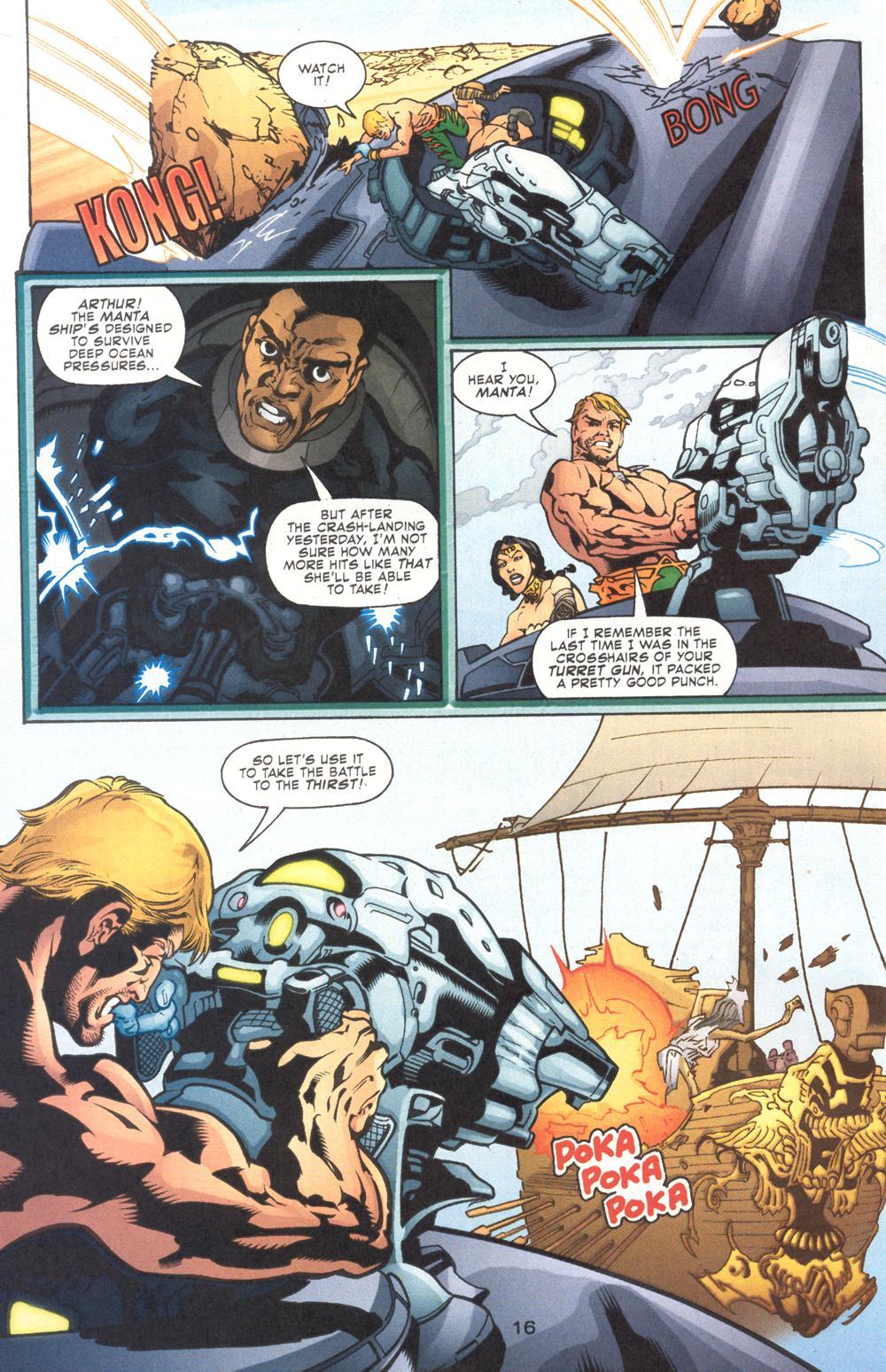 Read online Aquaman (2003) comic -  Issue #9 - 18