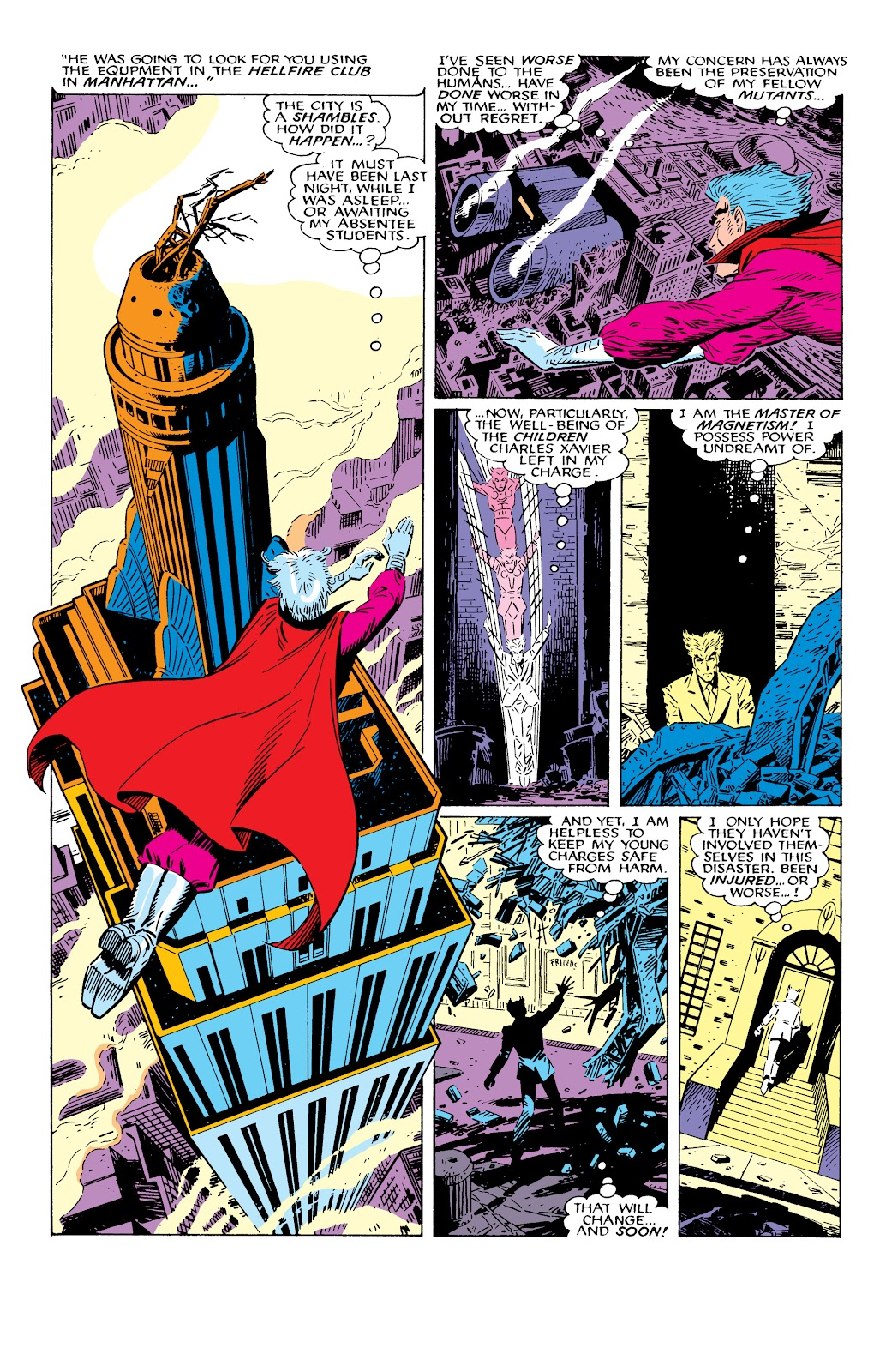 Read online X-Men Milestones: Fall of the Mutants comic -  Issue # TPB (Part 2) - 64