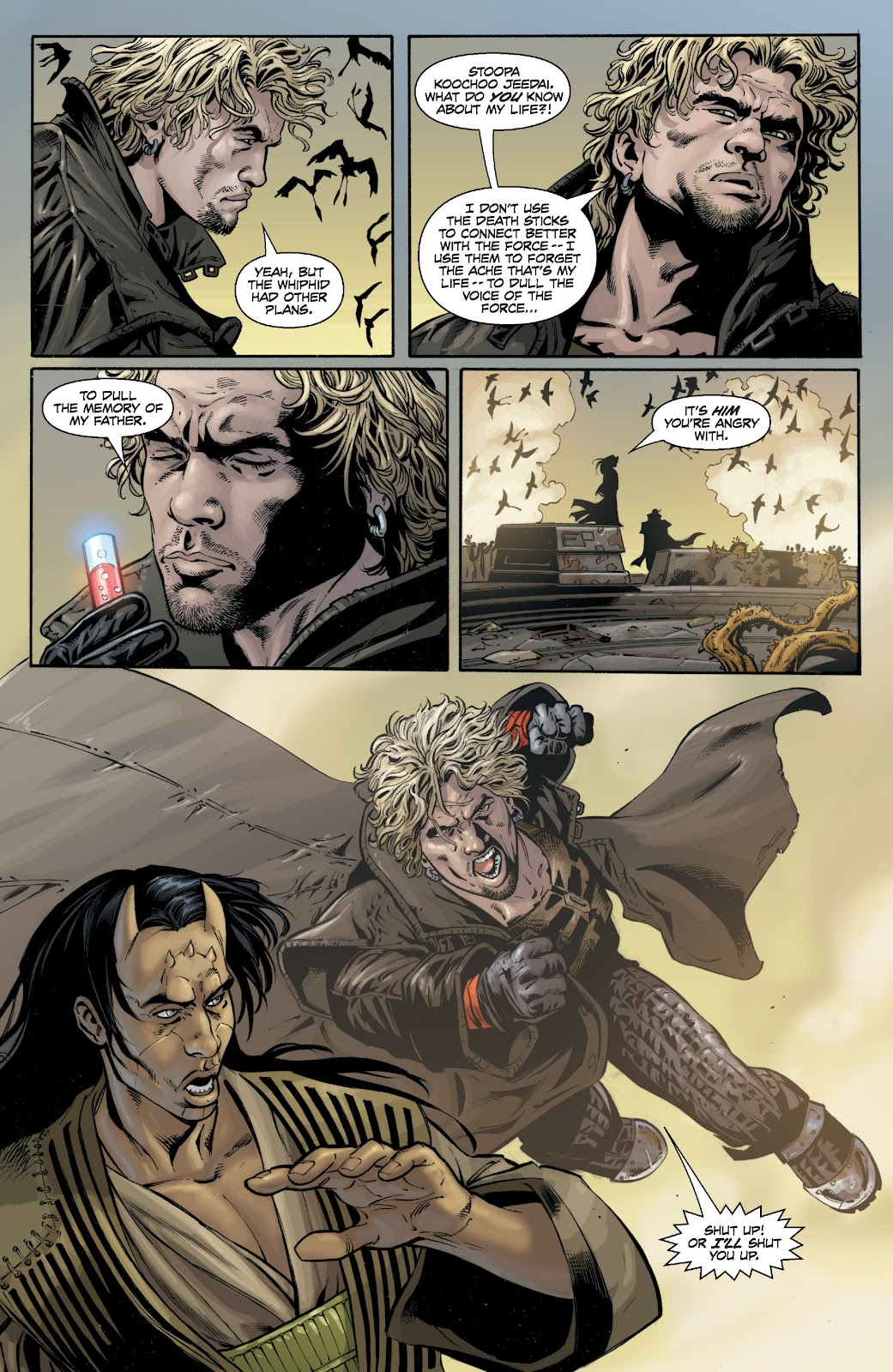 Read online Star Wars Legends: Legacy - Epic Collection comic -  Issue # TPB 1 (Part 4) - 4