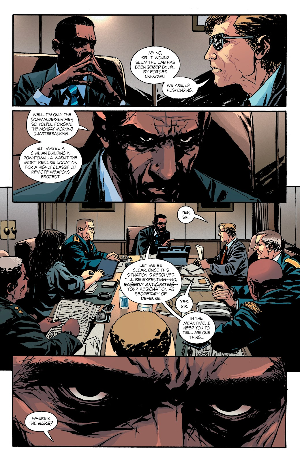 Read online Hardcore comic -  Issue #3 - 18