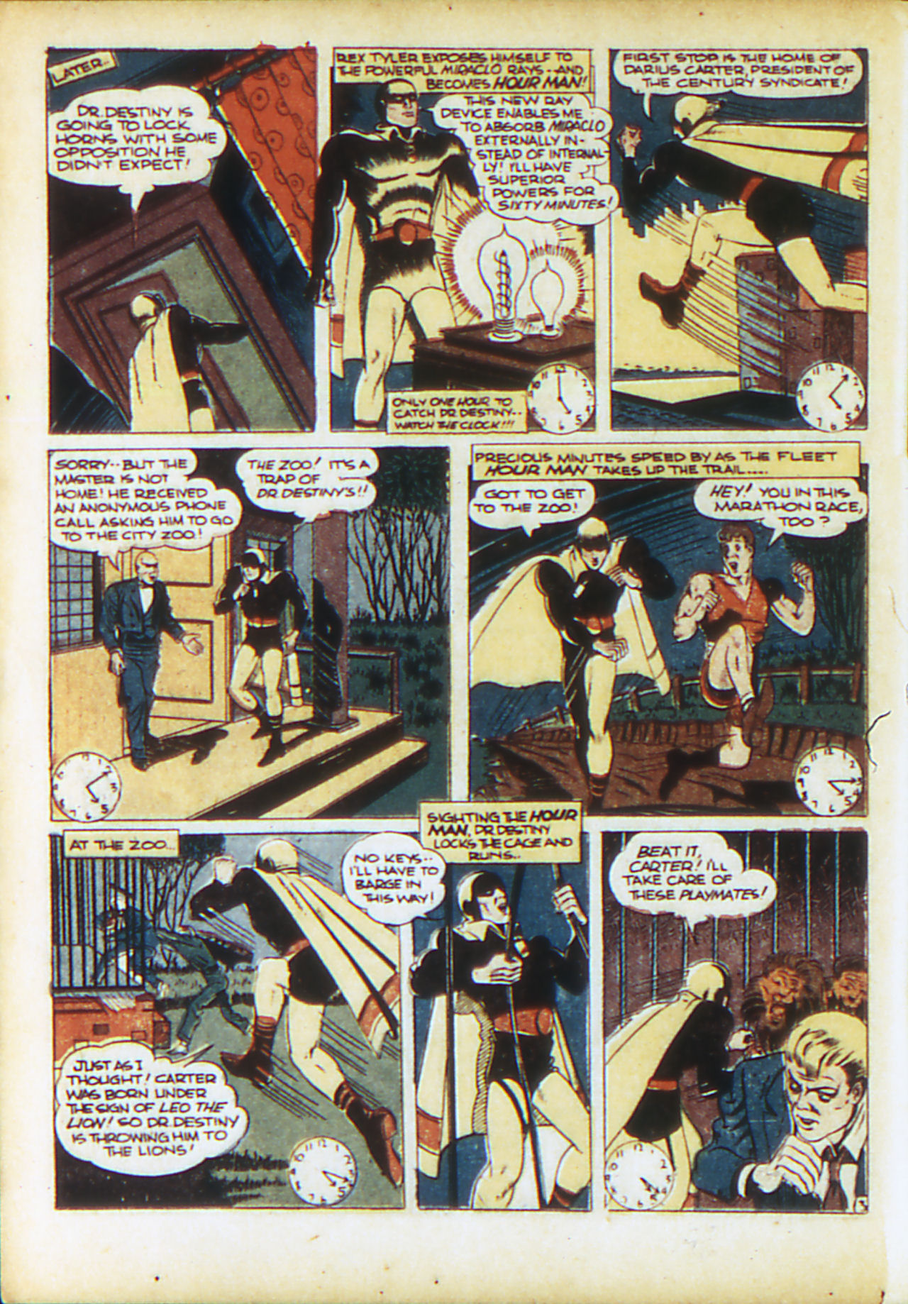 Read online Adventure Comics (1938) comic -  Issue #71 - 43