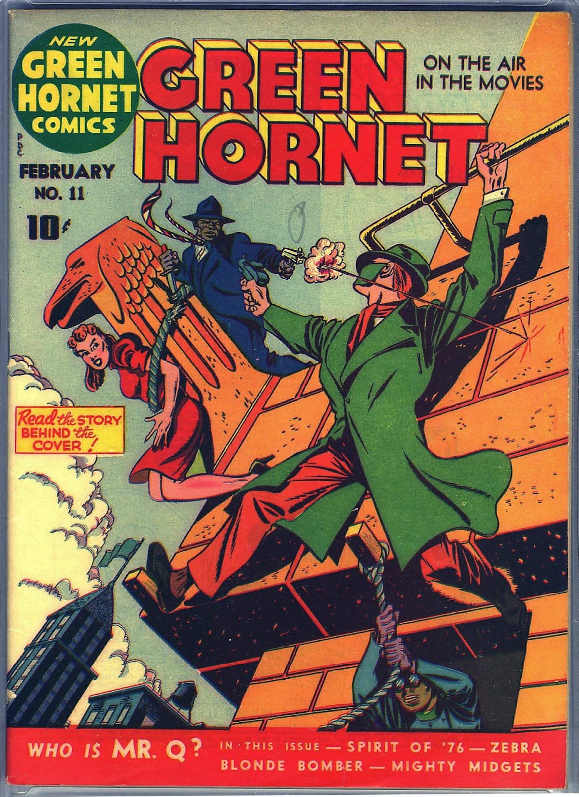 Green Hornet Comics 11 Page 1