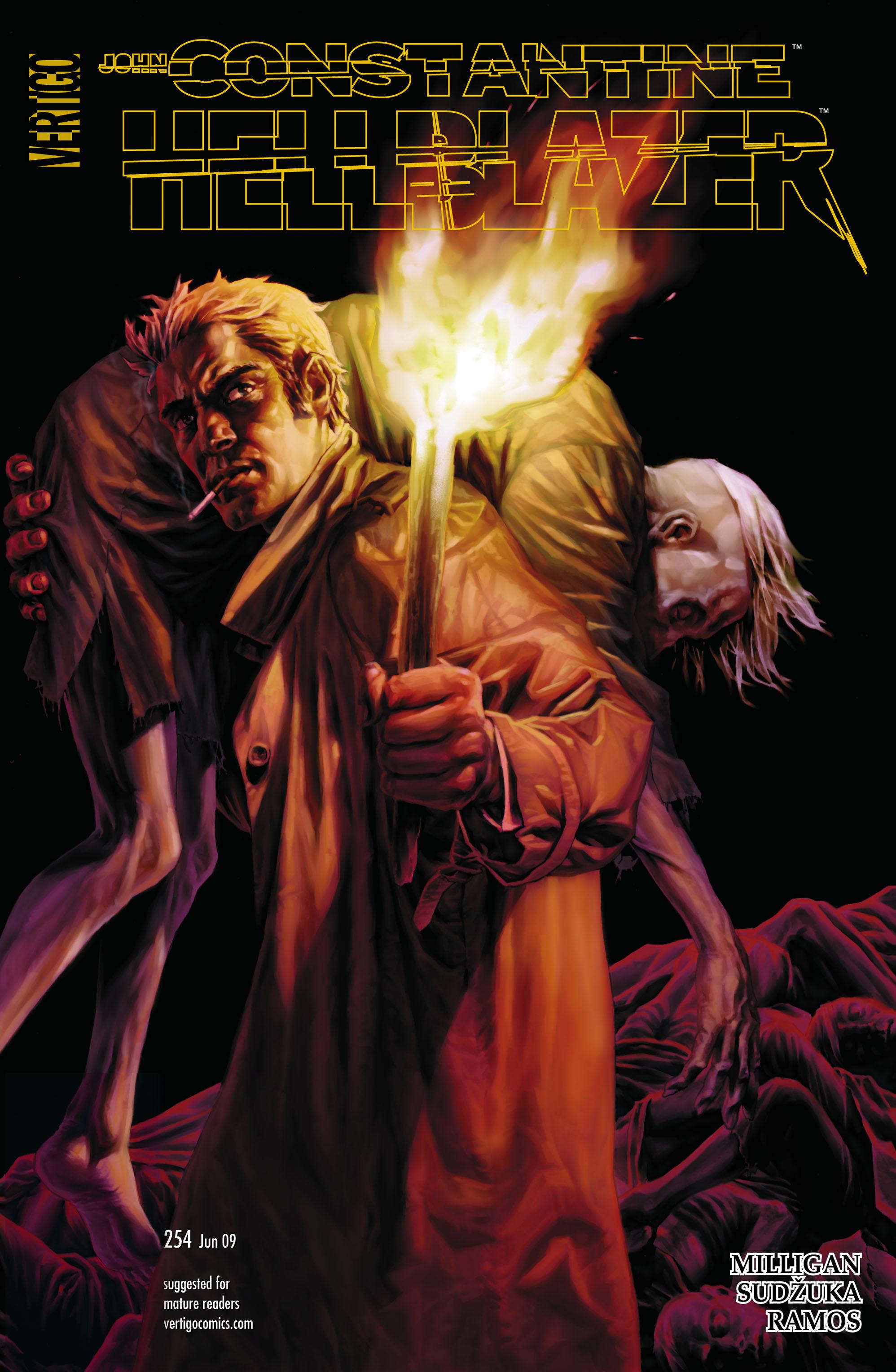 Hellblazer issue 254 - Page 1