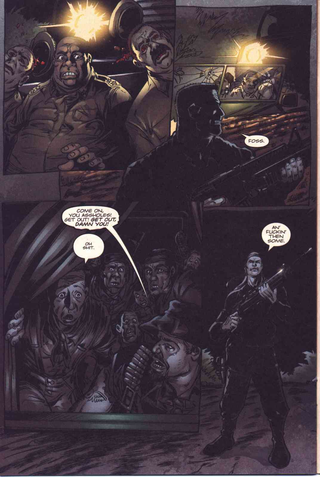 Read online Fury comic -  Issue #4 - 20