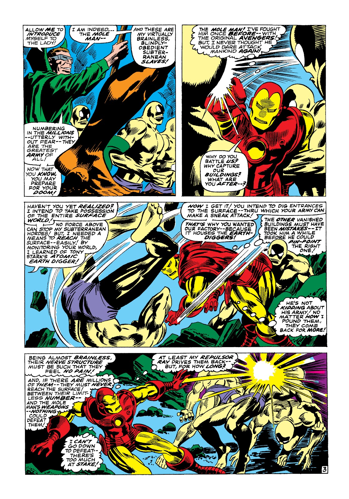 Read online Marvel Masterworks: The Invincible Iron Man comic -  Issue # TPB 4 (Part 1) - 61