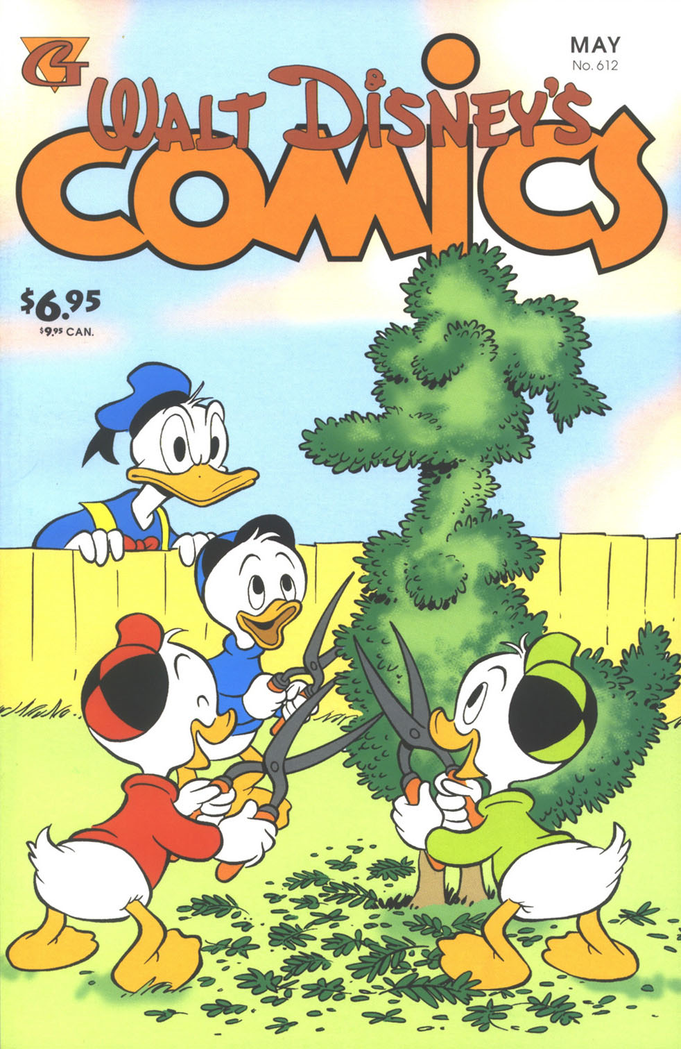Walt Disney's Comics and Stories issue 612 - Page 1