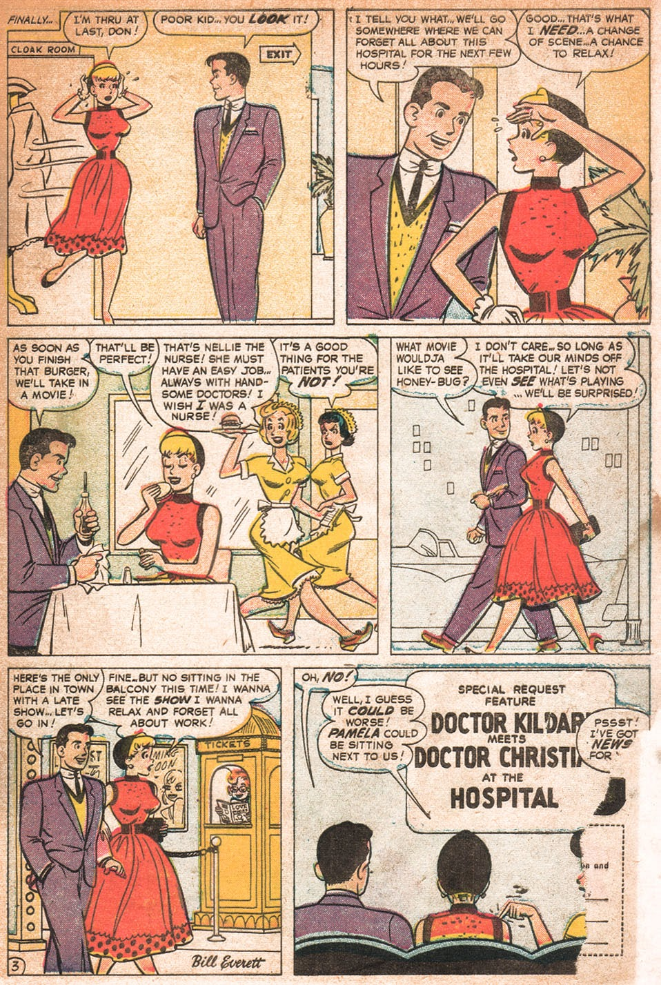 Read online Nellie The Nurse (1957) comic -  Issue # Full - 32