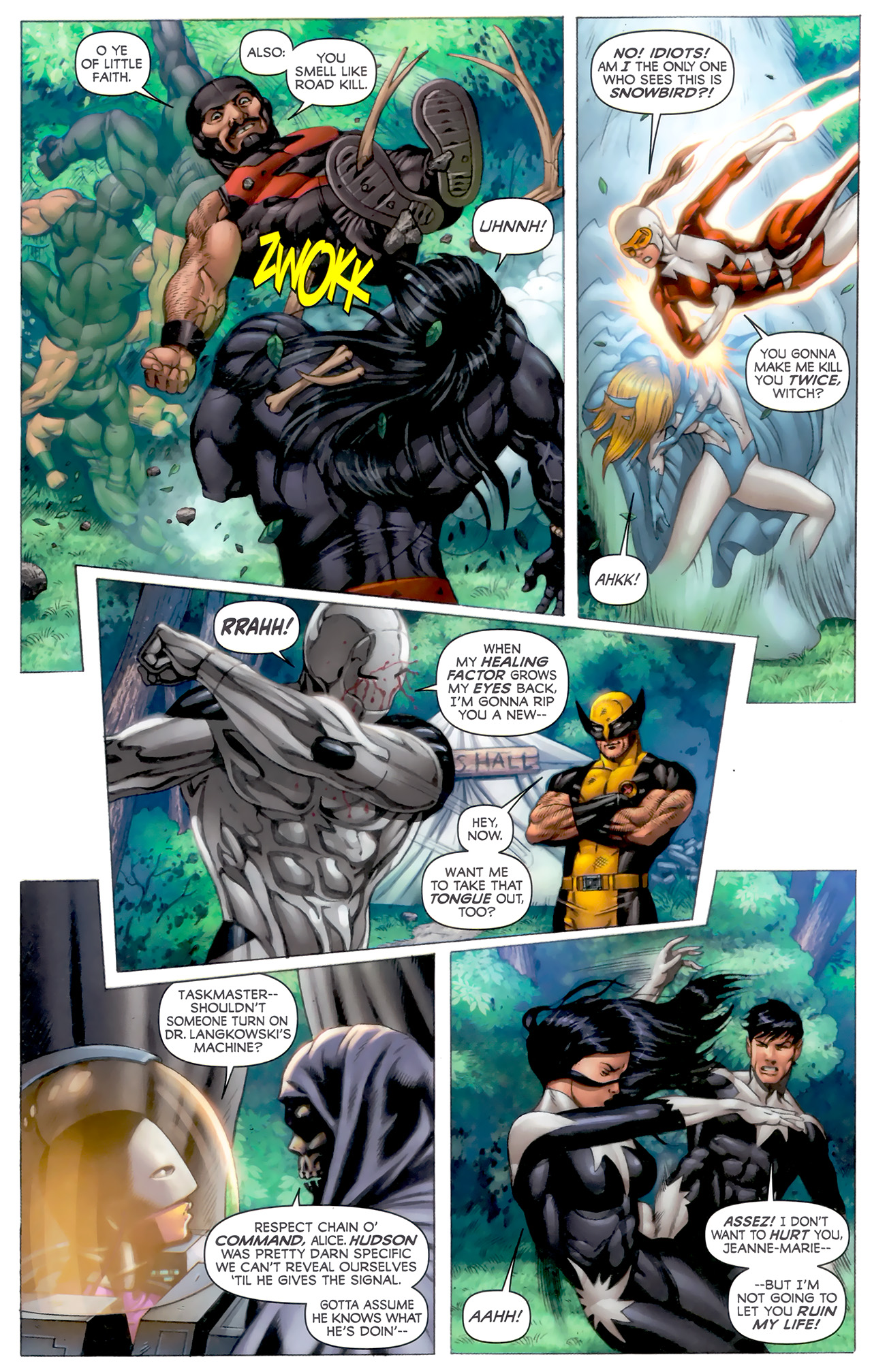 Read online Alpha Flight (2011) comic -  Issue #8 - 11