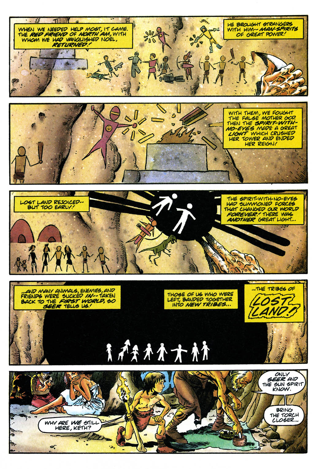 Read online Turok, Dinosaur Hunter (1993) comic -  Issue #24 - 9