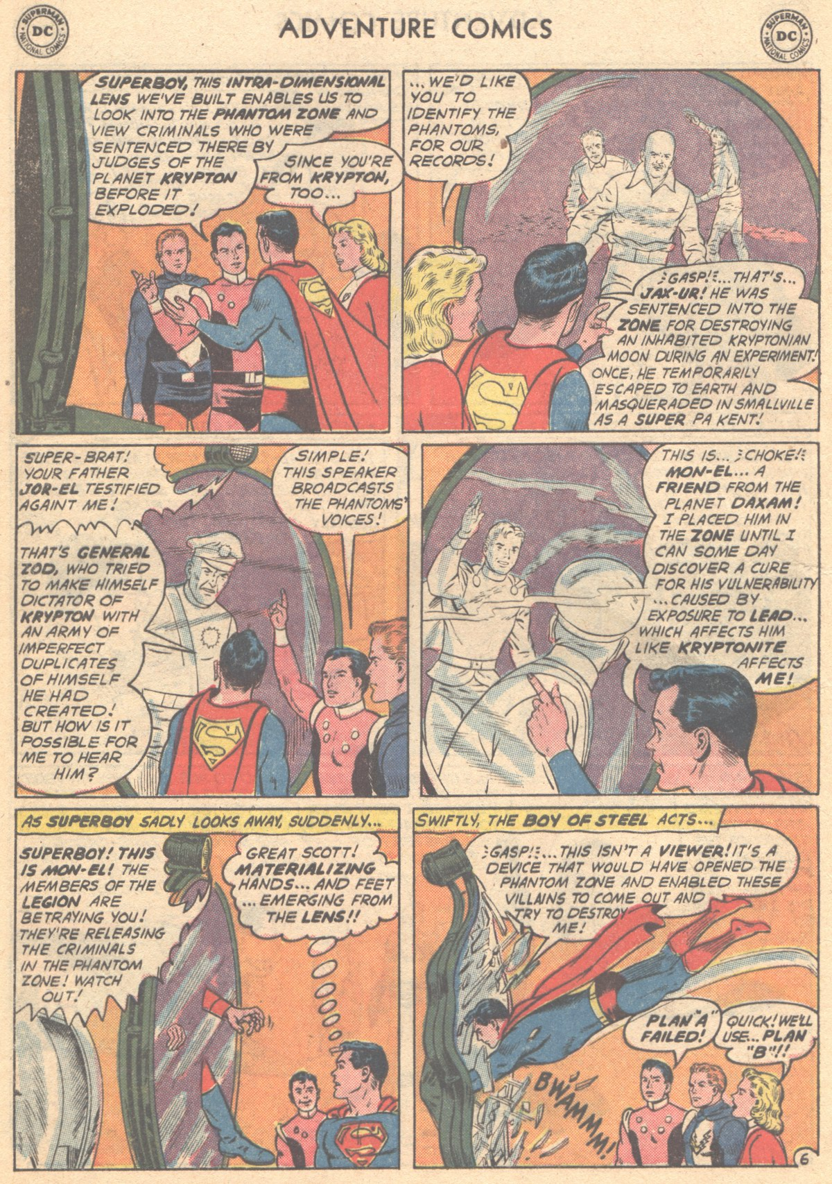 Read online Adventure Comics (1938) comic -  Issue #293 - 8