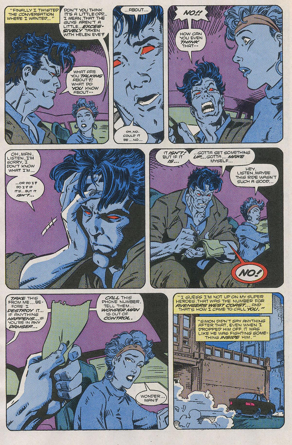 Read online Wonder Man (1991) comic -  Issue #2 - 9